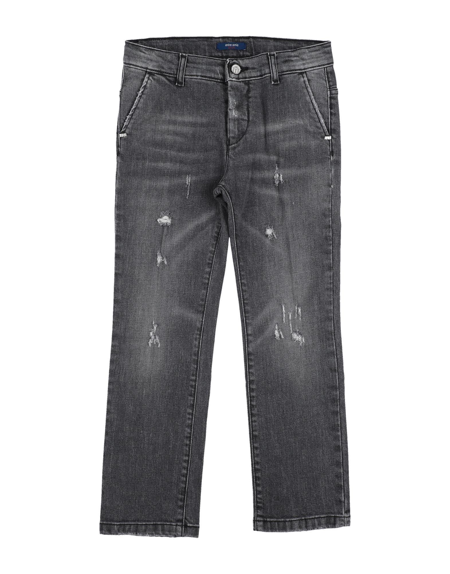 Entre Amis Garçon Kids' Jeans In Gray