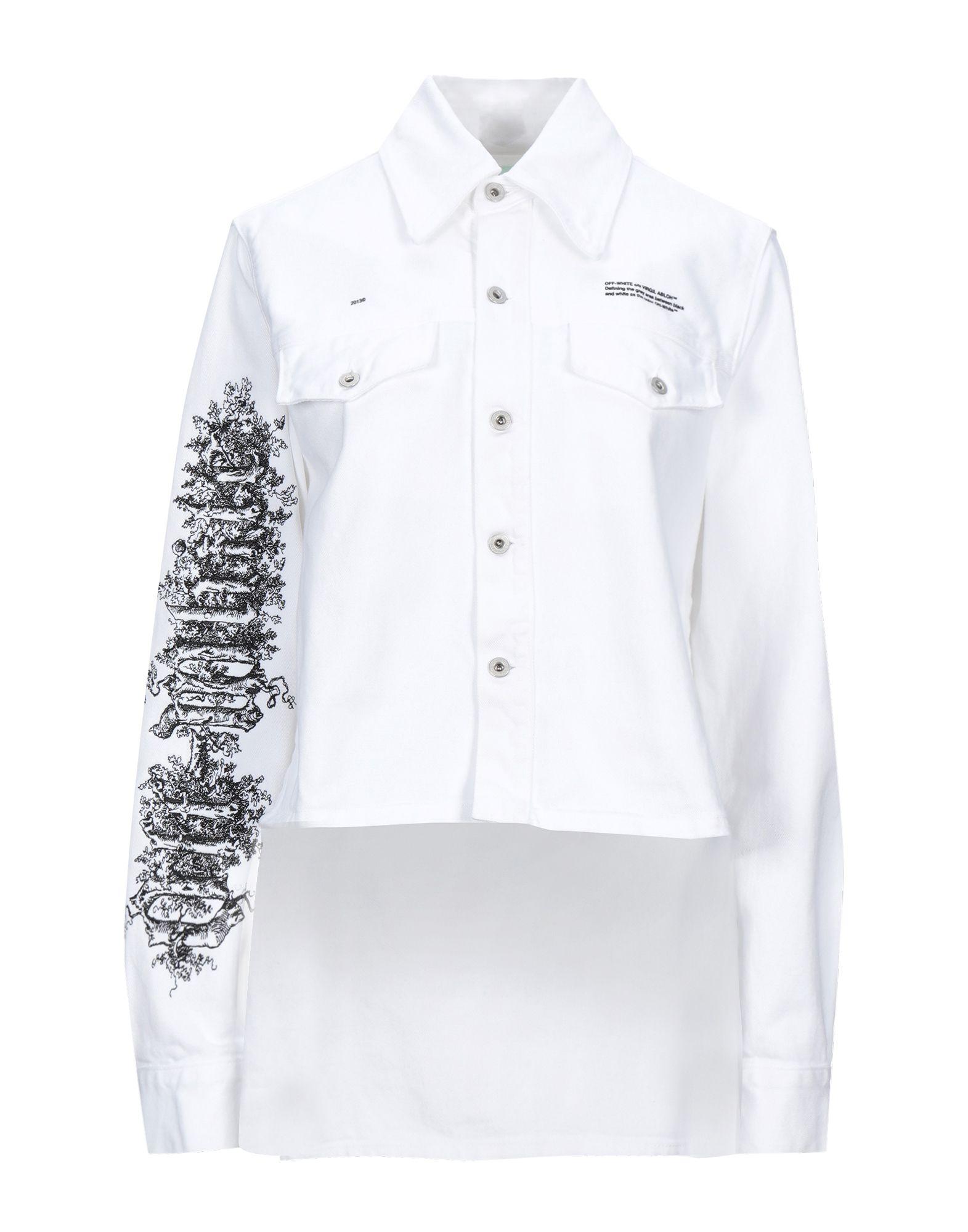 OFF-WHITE™ Джинсовая верхняя одежда yeezy джинсовая верхняя одежда