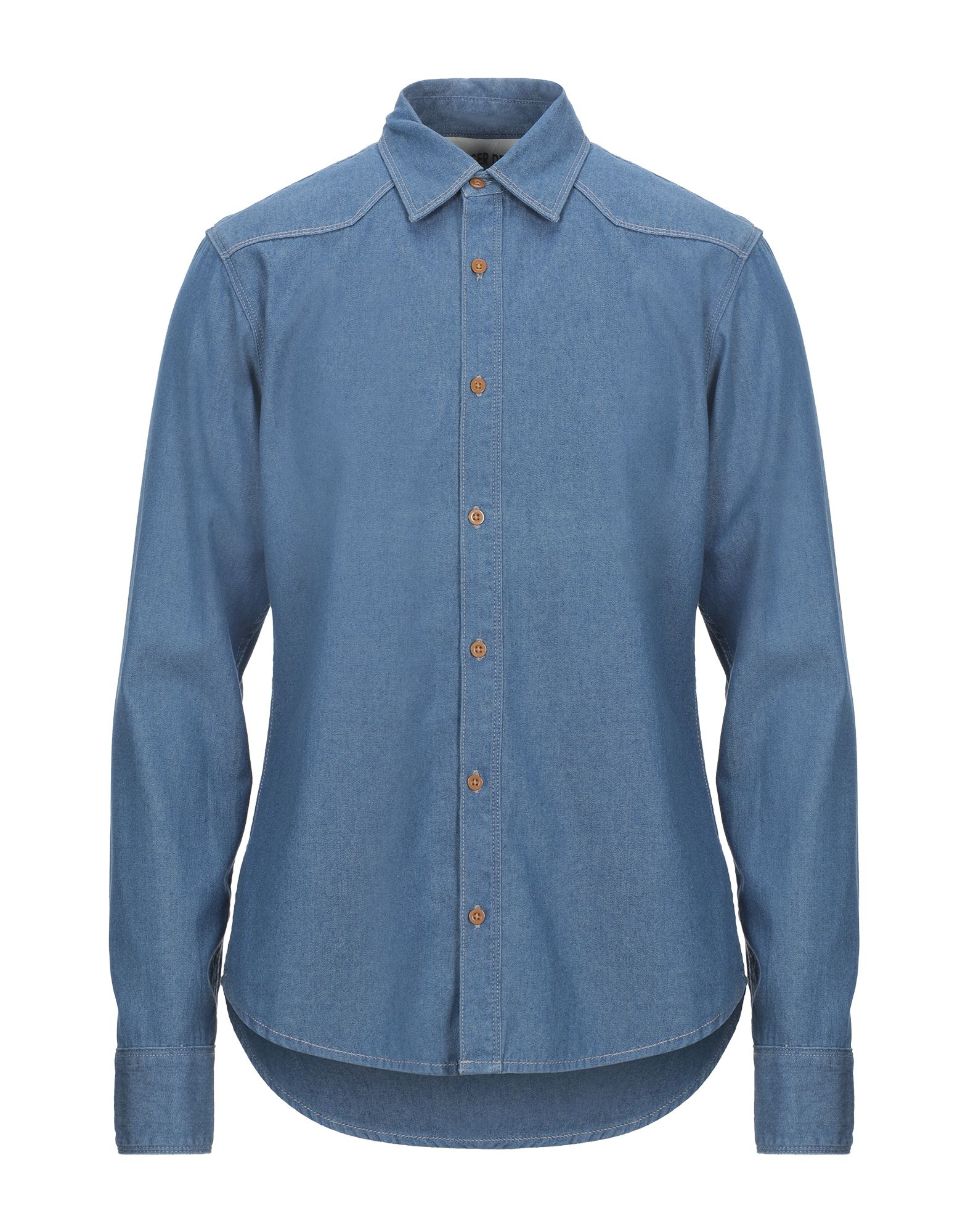 цена на TOMMY JEANS Джинсовая рубашка