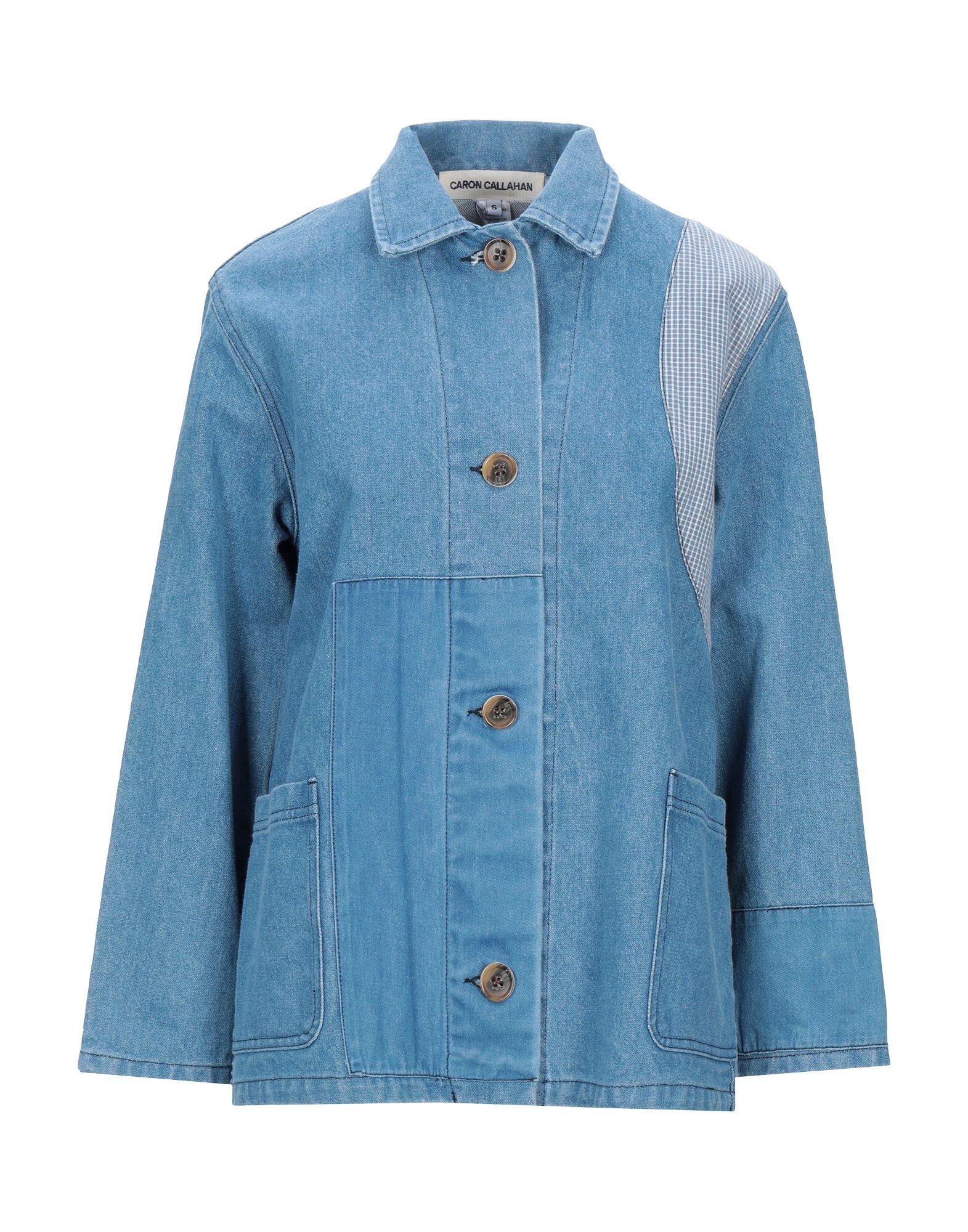 Фото - CARON CALLAHAN Джинсовая верхняя одежда wesc джинсовая верхняя одежда