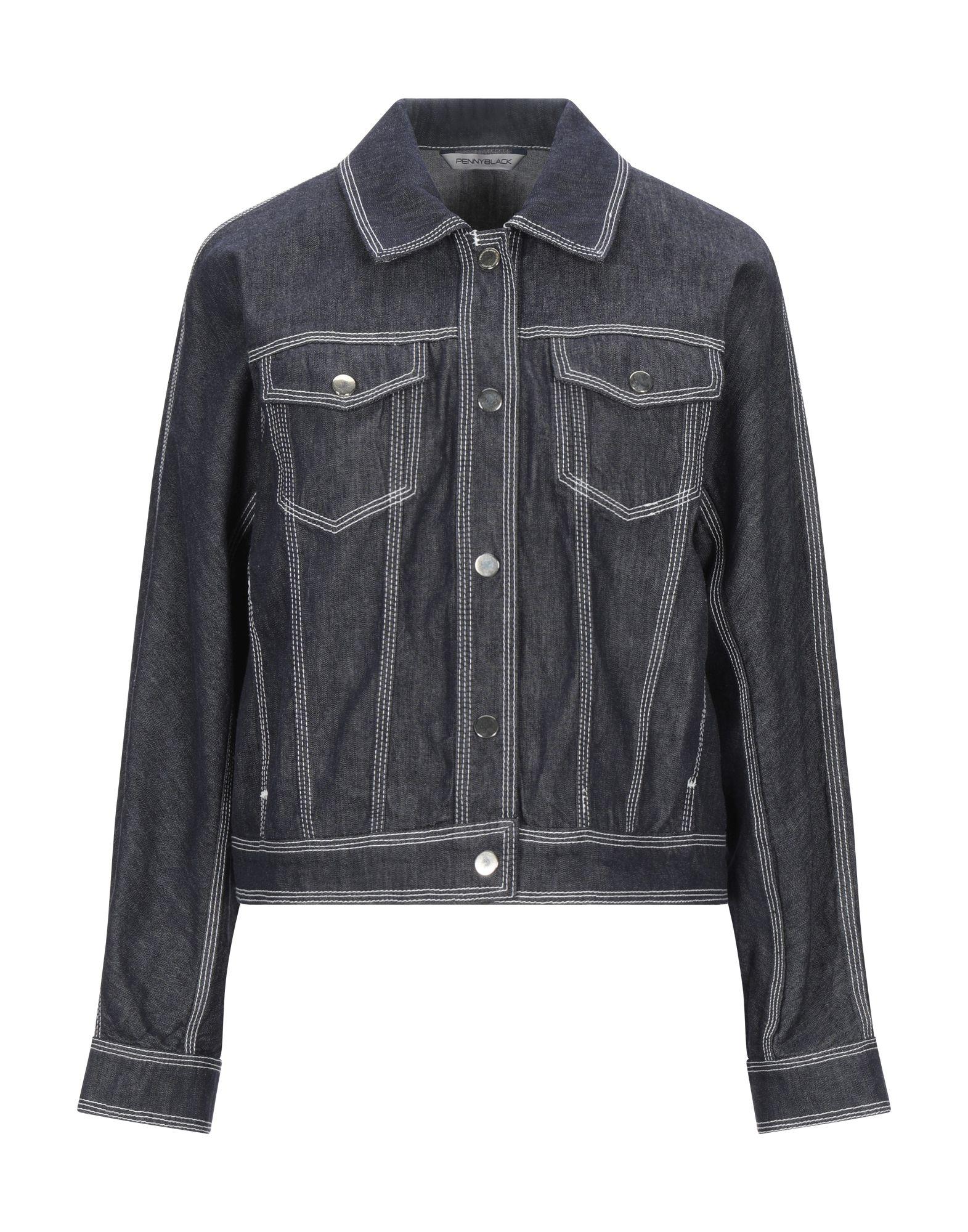 PENNYBLACK Джинсовая верхняя одежда yeezy джинсовая верхняя одежда