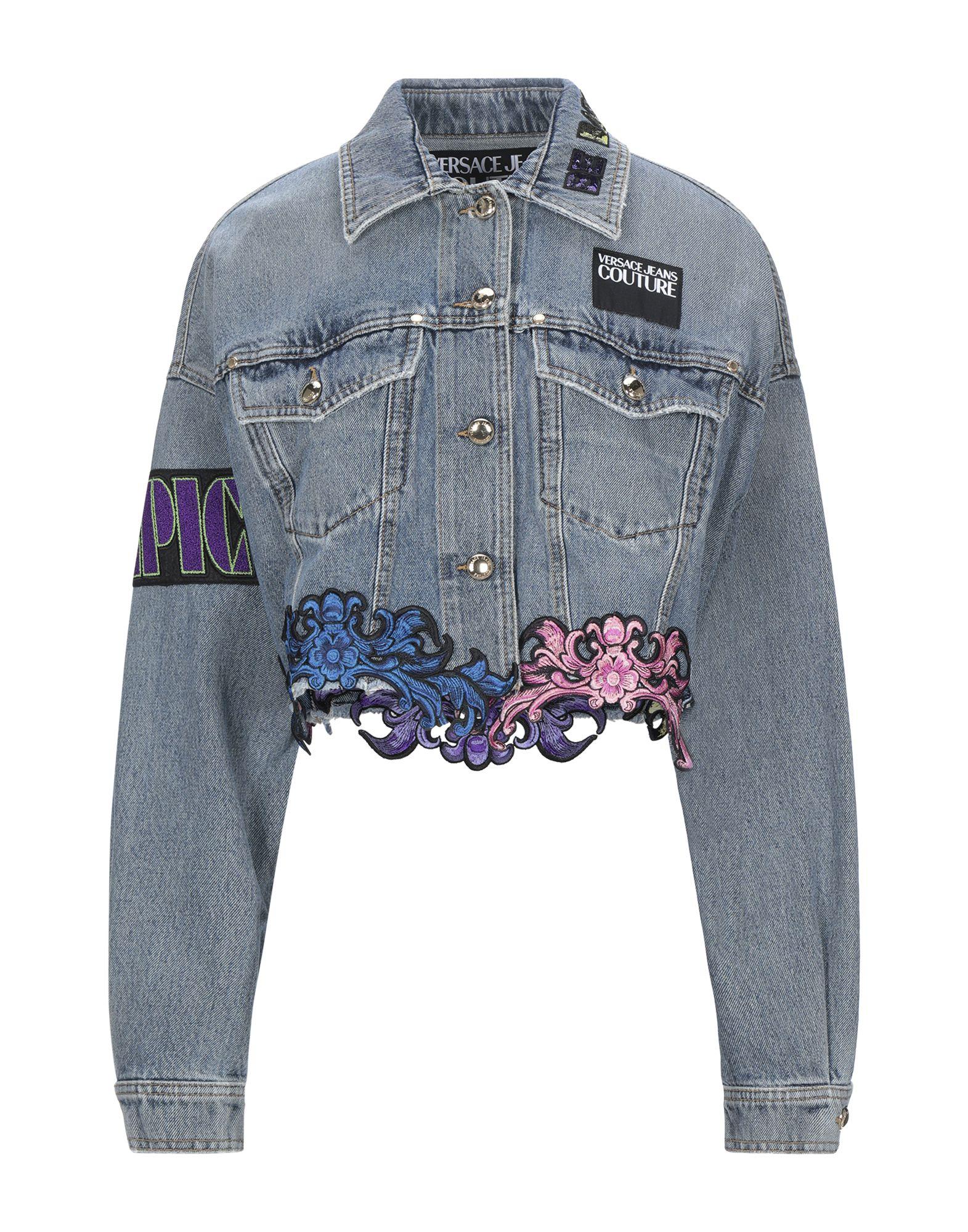 VERSACE JEANS COUTURE Джинсовая верхняя одежда versace jeans couture джинсовая верхняя одежда