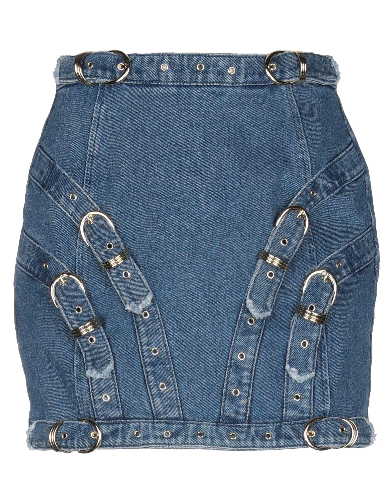VERSACE JEANS COUTURE Джинсовая юбка юбка джинсовая versace jeans couture versace jeans couture ve035ewhytm4