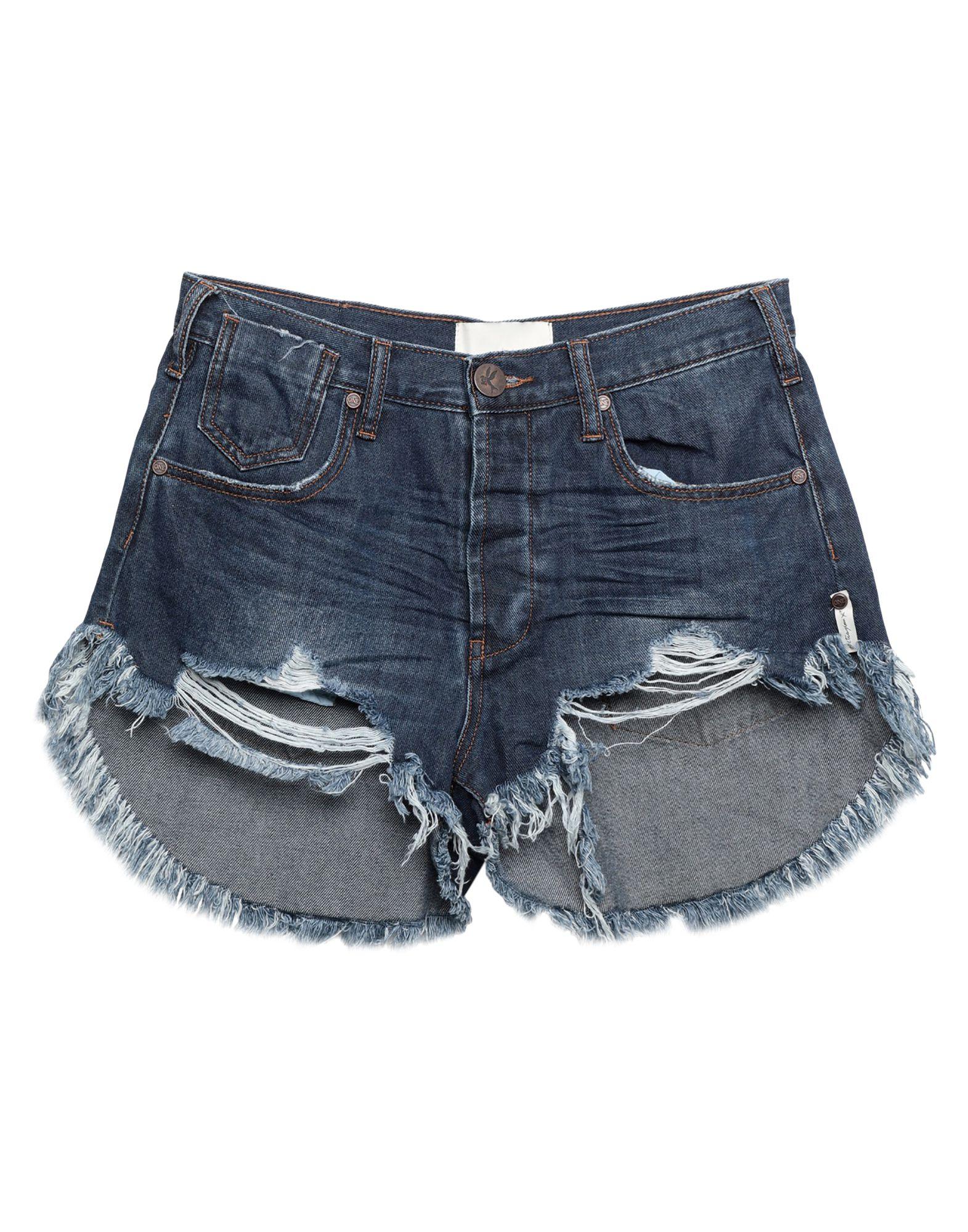 ONETEASPOON Denim shorts - Item 42809373