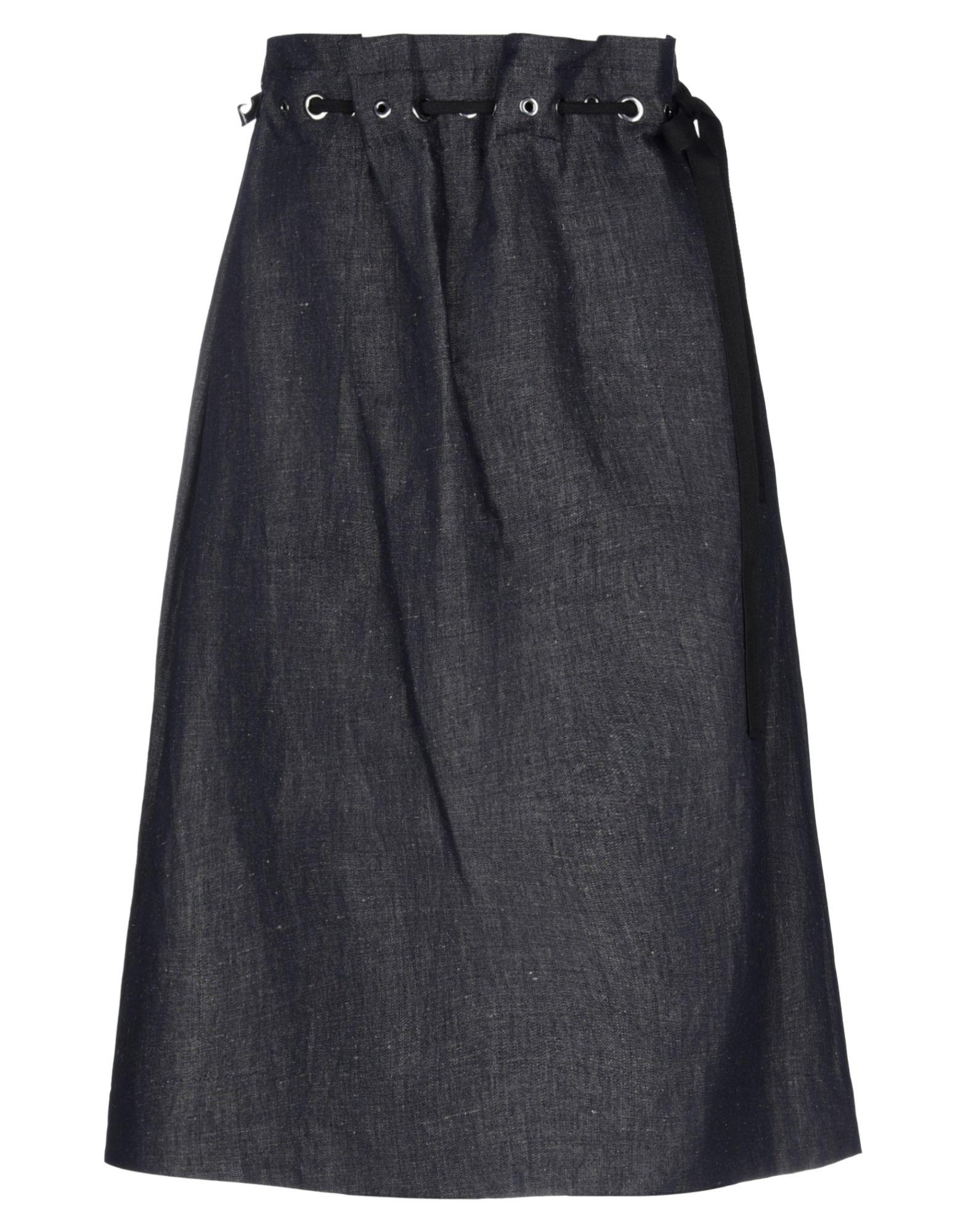 'S MAX MARA Джинсовая юбка юбка карандаш с потайной молнией max mara studio