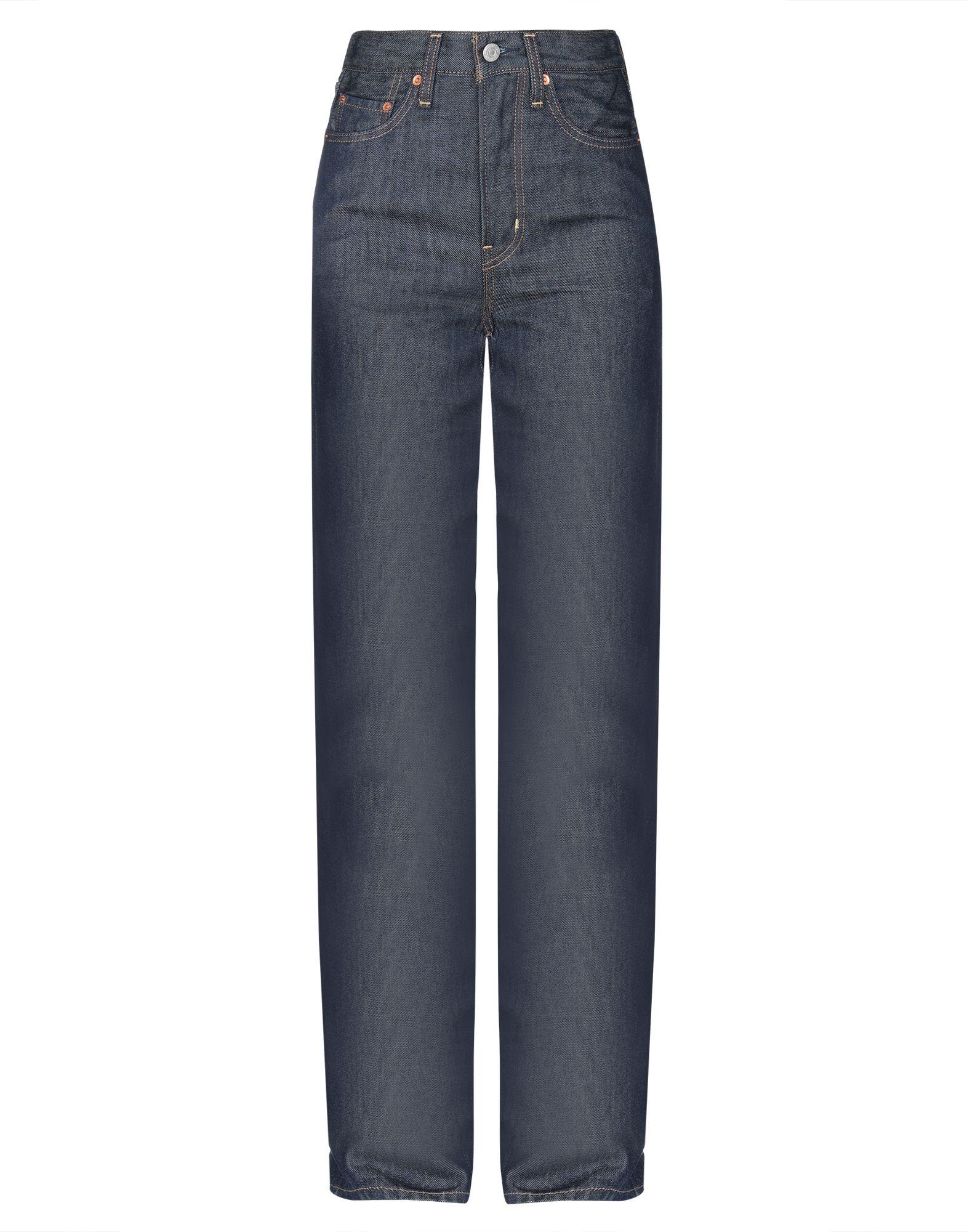 LEVI' S Джинсовые брюки dotted self tie wide leg jumpsuit