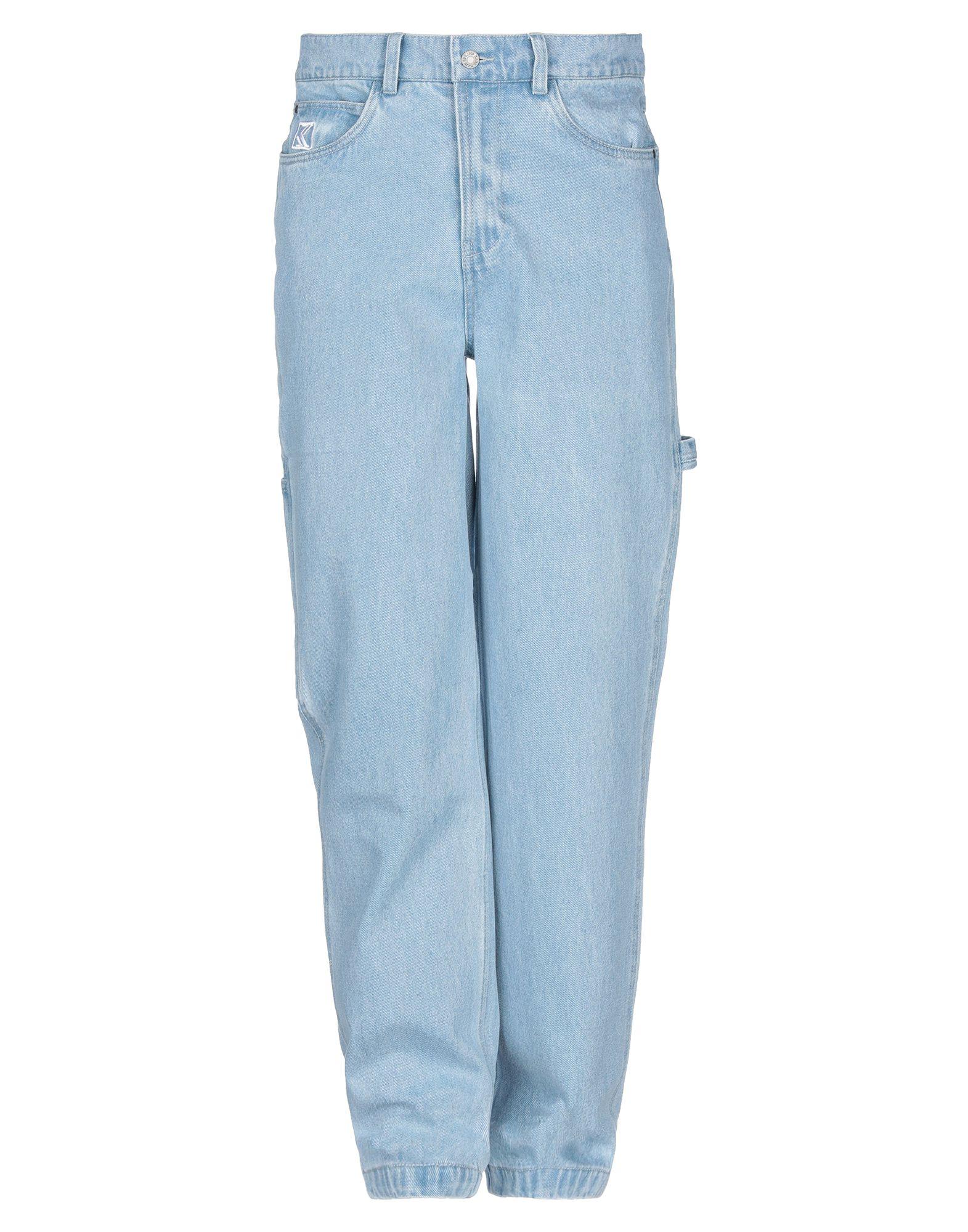 《セール開催中》KARL KANI メンズ ジーンズ ブルー XS コットン 100%