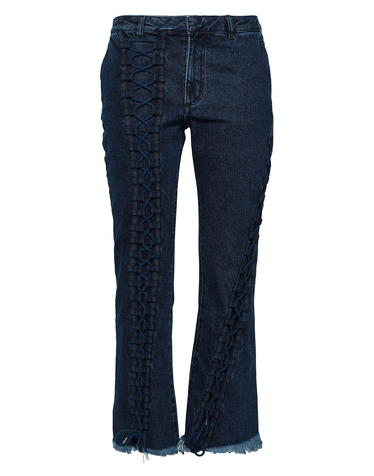 MARQUES' ALMEIDA Джинсовые брюки marques almeida джинсовые шорты