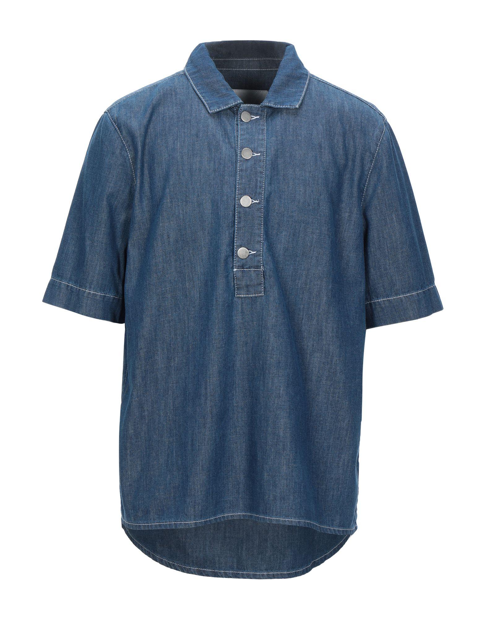 Фото - HOLZWEILER Джинсовая рубашка holzweiler