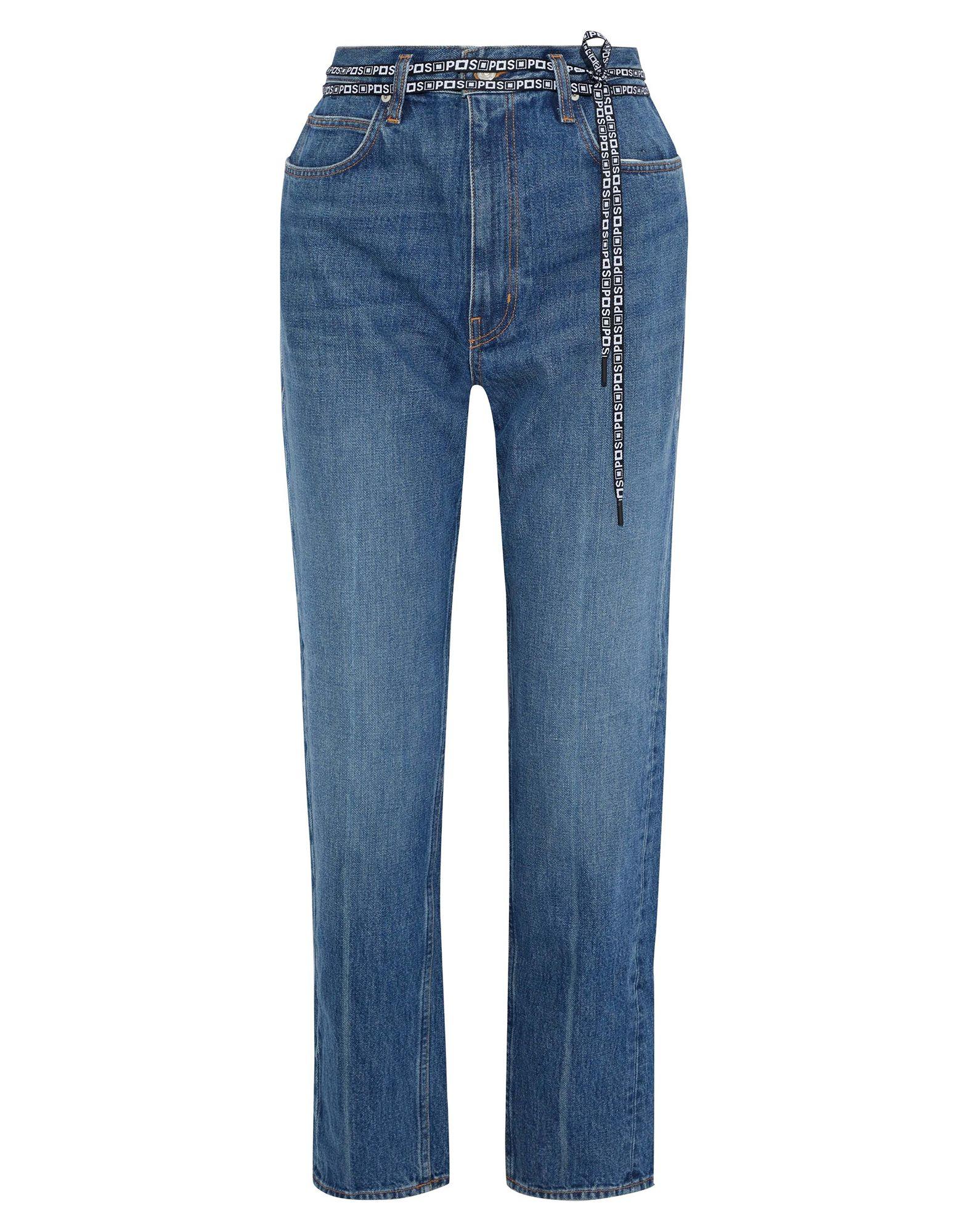 PROENZA SCHOULER Denim pants - Item 42812878