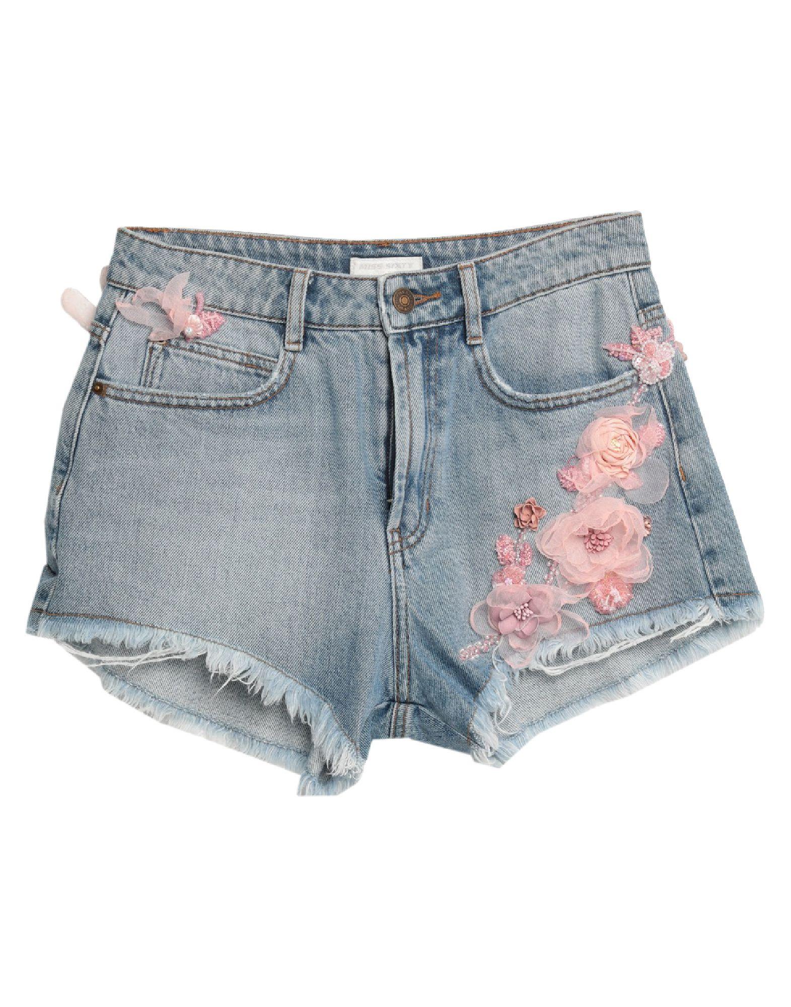 MISS SIXTY Джинсовые шорты юбка шорты miss selfridge miss selfridge mi035ewfgom6