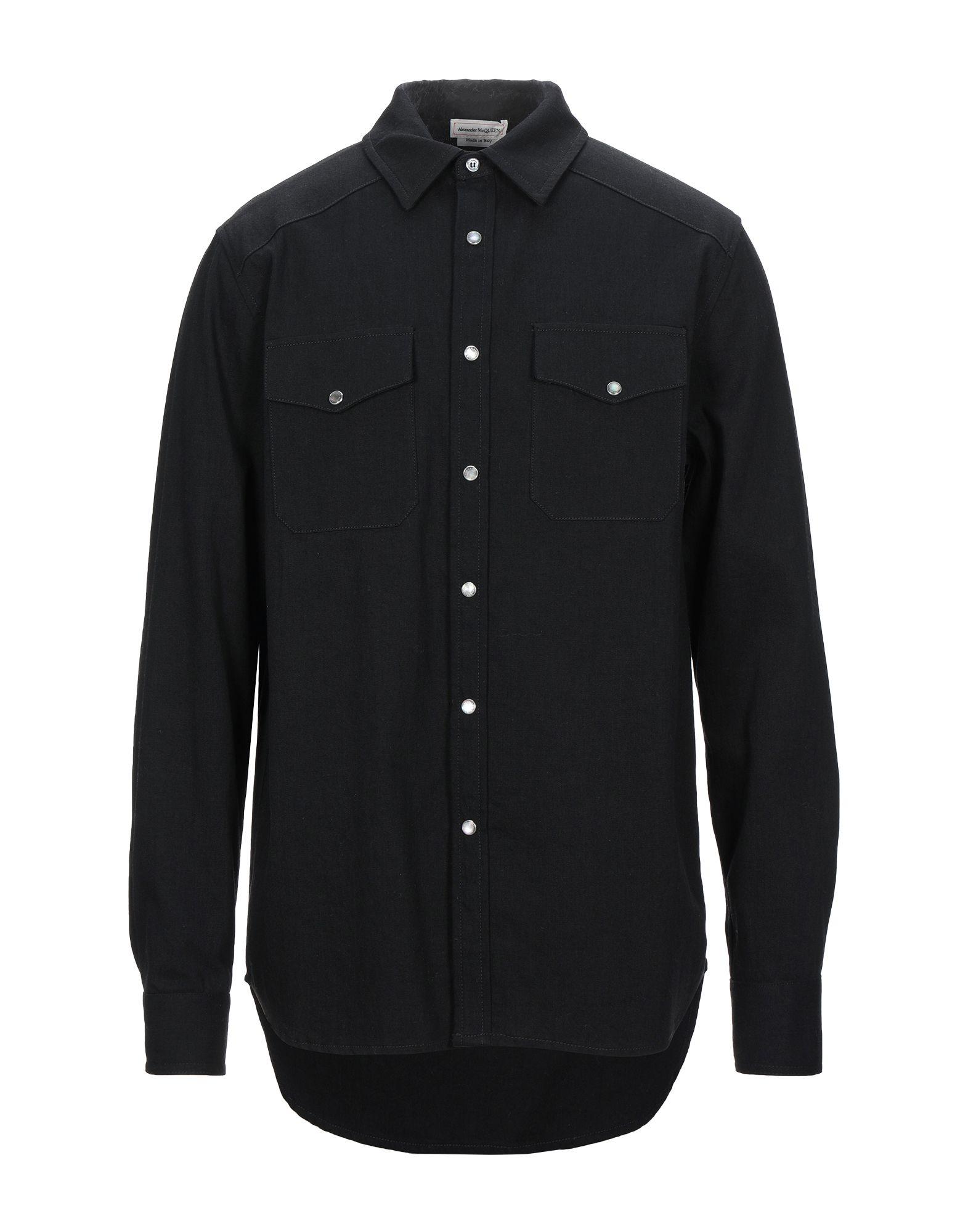 ALEXANDER MCQUEEN Denim shirts - Item 42814931