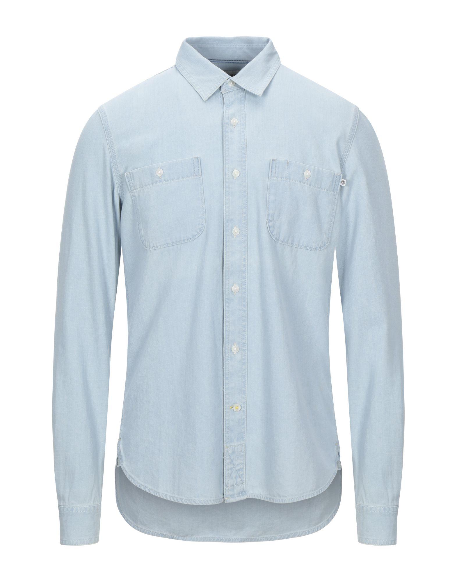 TIMBERLAND Denim shirts - Item 42815004