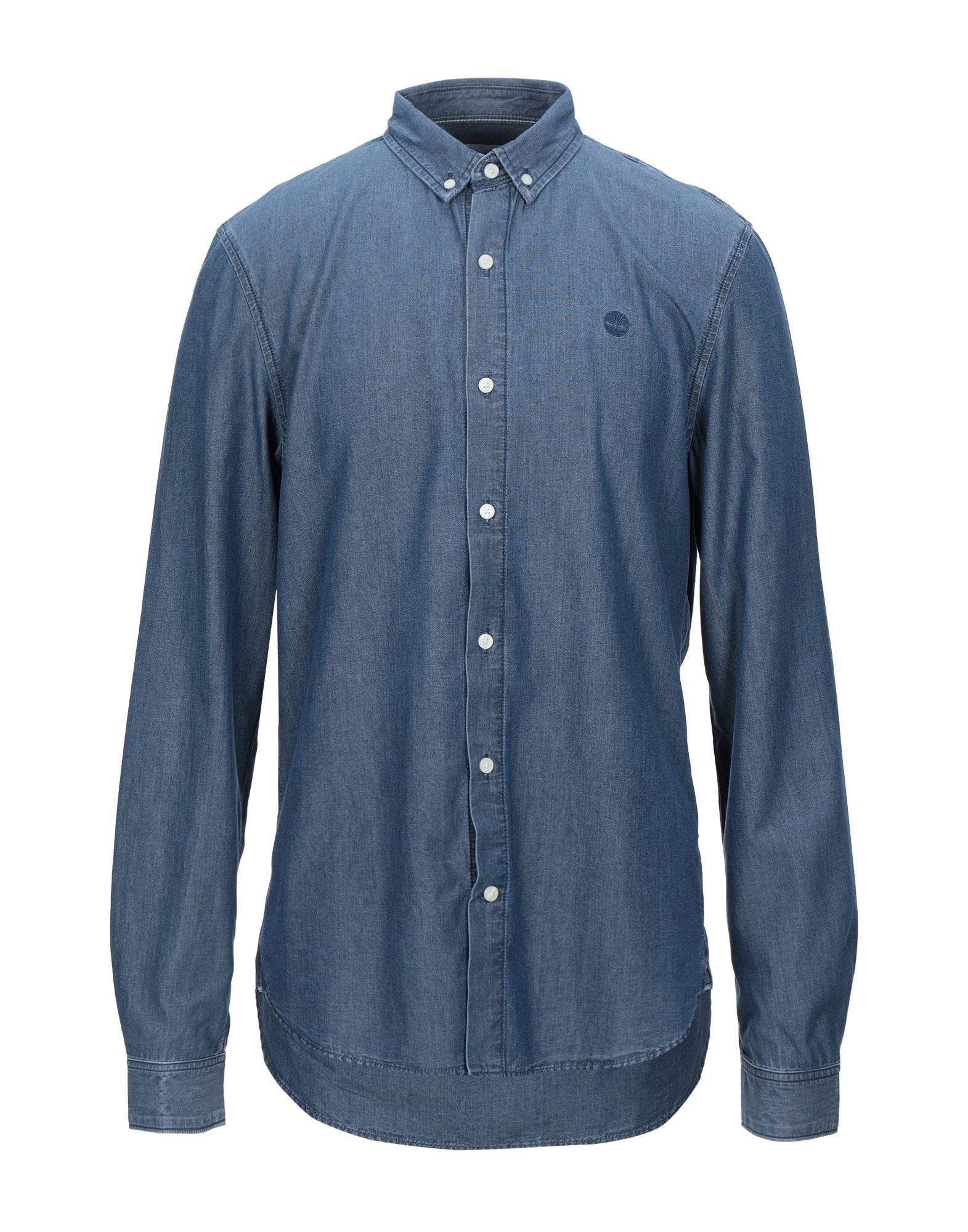 TIMBERLAND Denim shirts - Item 42815021