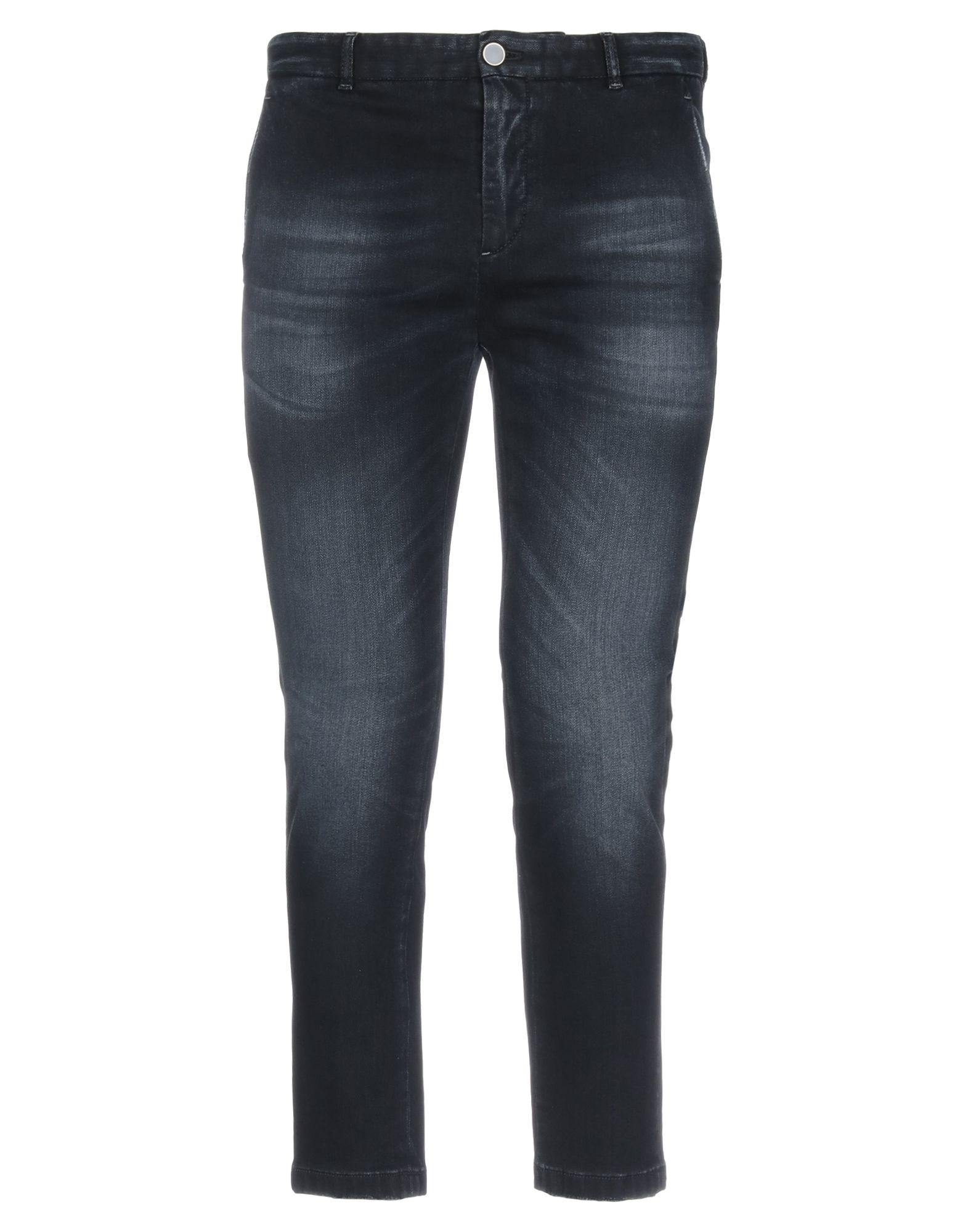 《セール開催中》PT Torino メンズ ジーンズ ブラック 32 コットン 57% / レーヨン 37% / エメリー 4% / ポリウレタン 2%