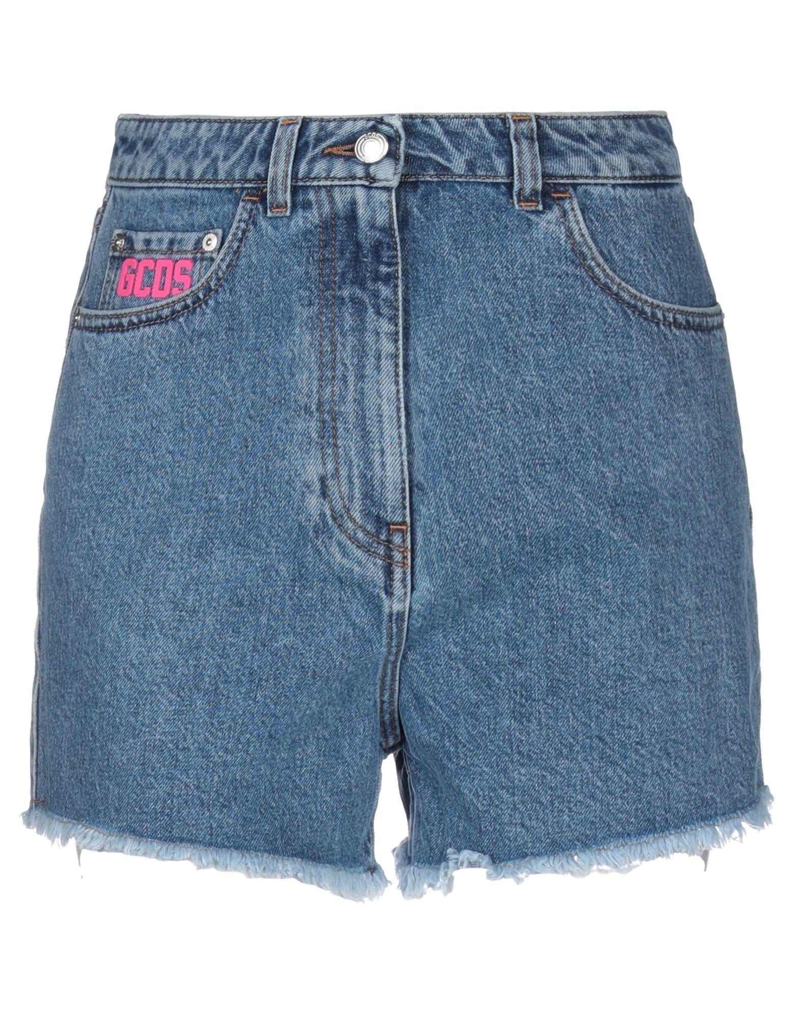 Фото - GCDS Джинсовые шорты please джинсовые шорты