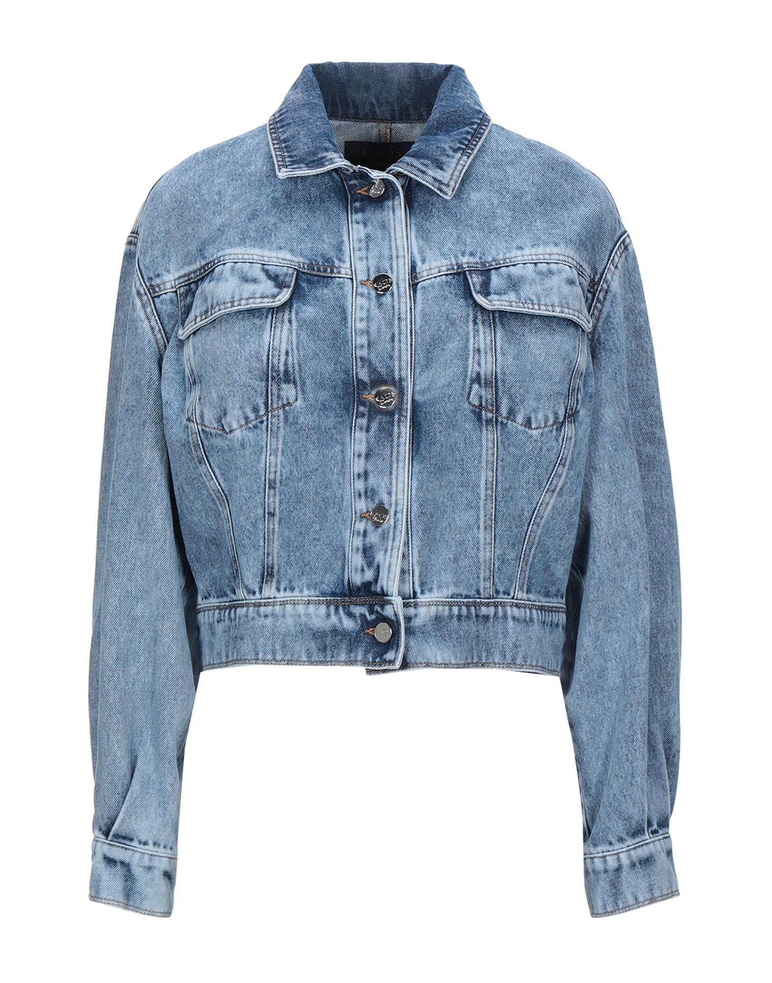 Фото - KAOS JEANS Джинсовая верхняя одежда goldsign джинсовая верхняя одежда