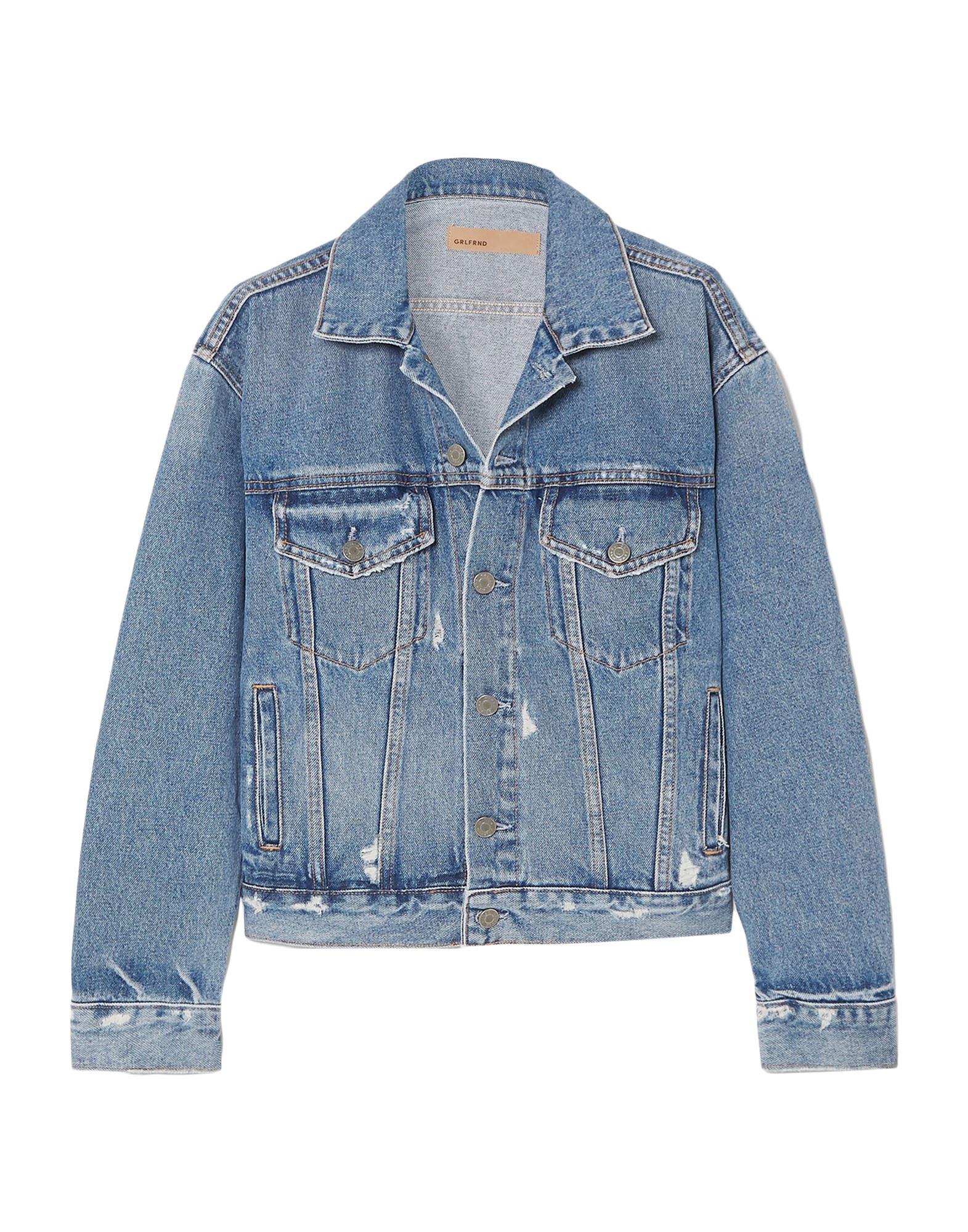 Фото - GRLFRND Джинсовая верхняя одежда wesc джинсовая верхняя одежда