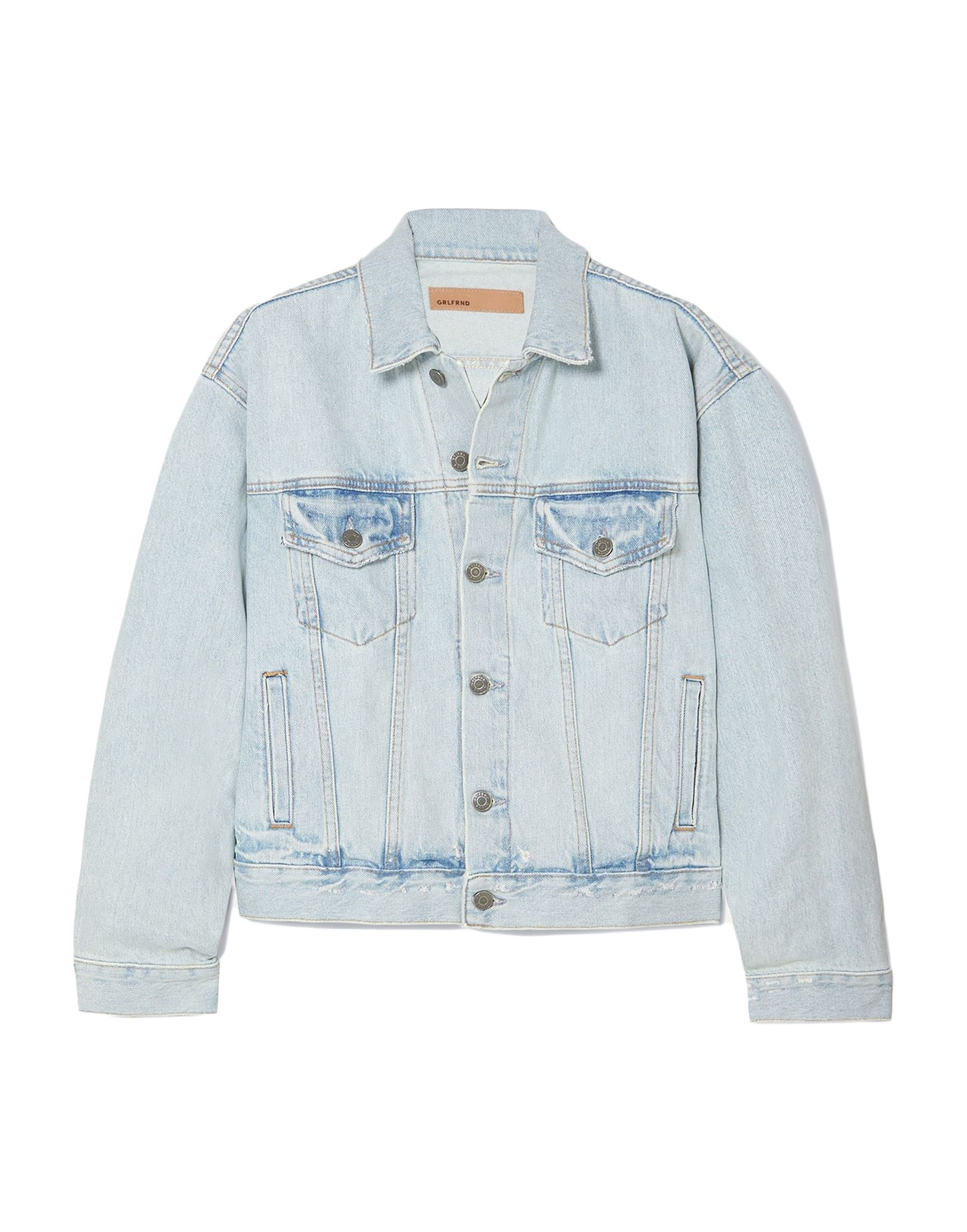 GRLFRND Джинсовая верхняя одежда grlfrnd джинсовая юбка