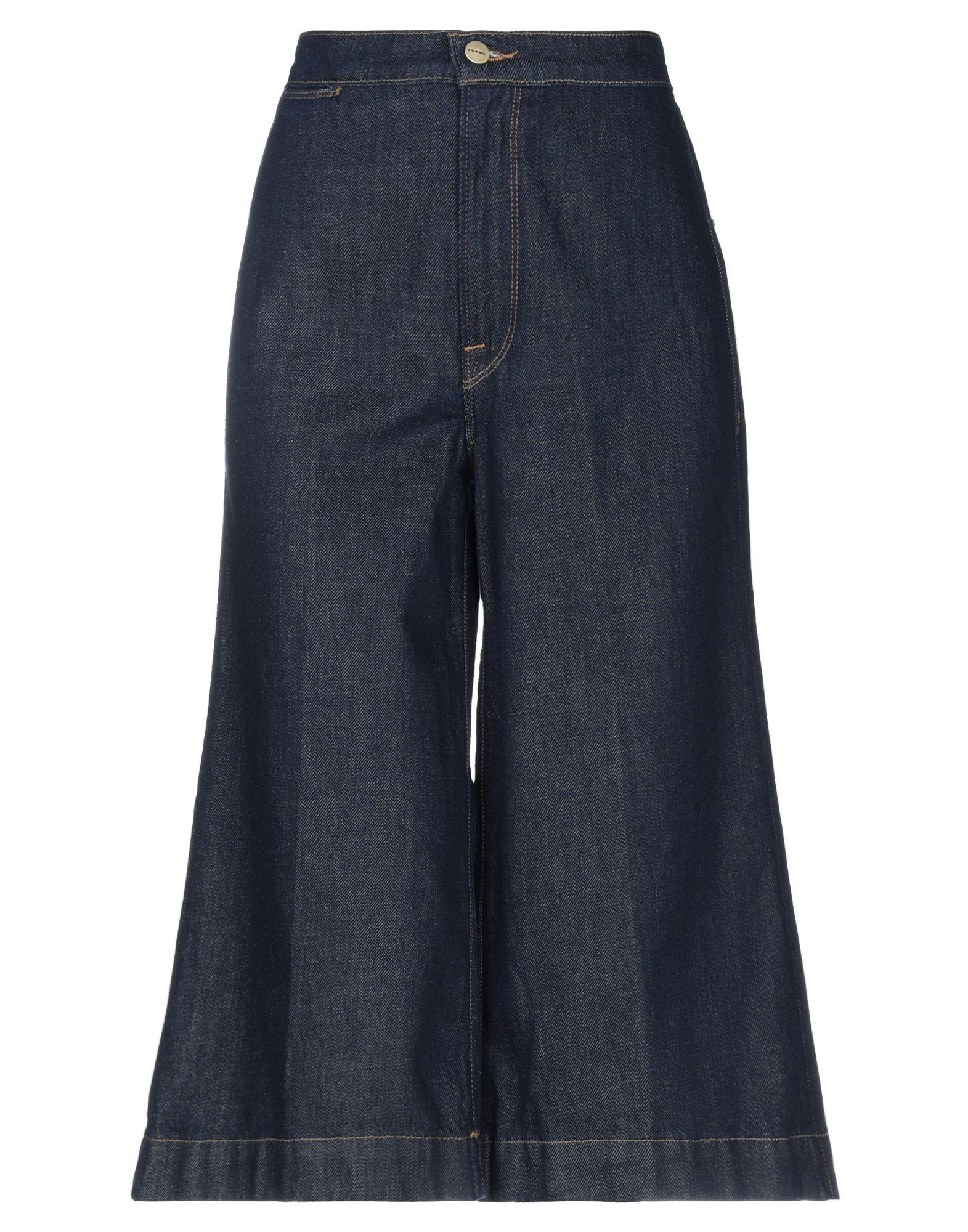 FRAME Джинсовые брюки-капри sahoco джинсовые брюки капри
