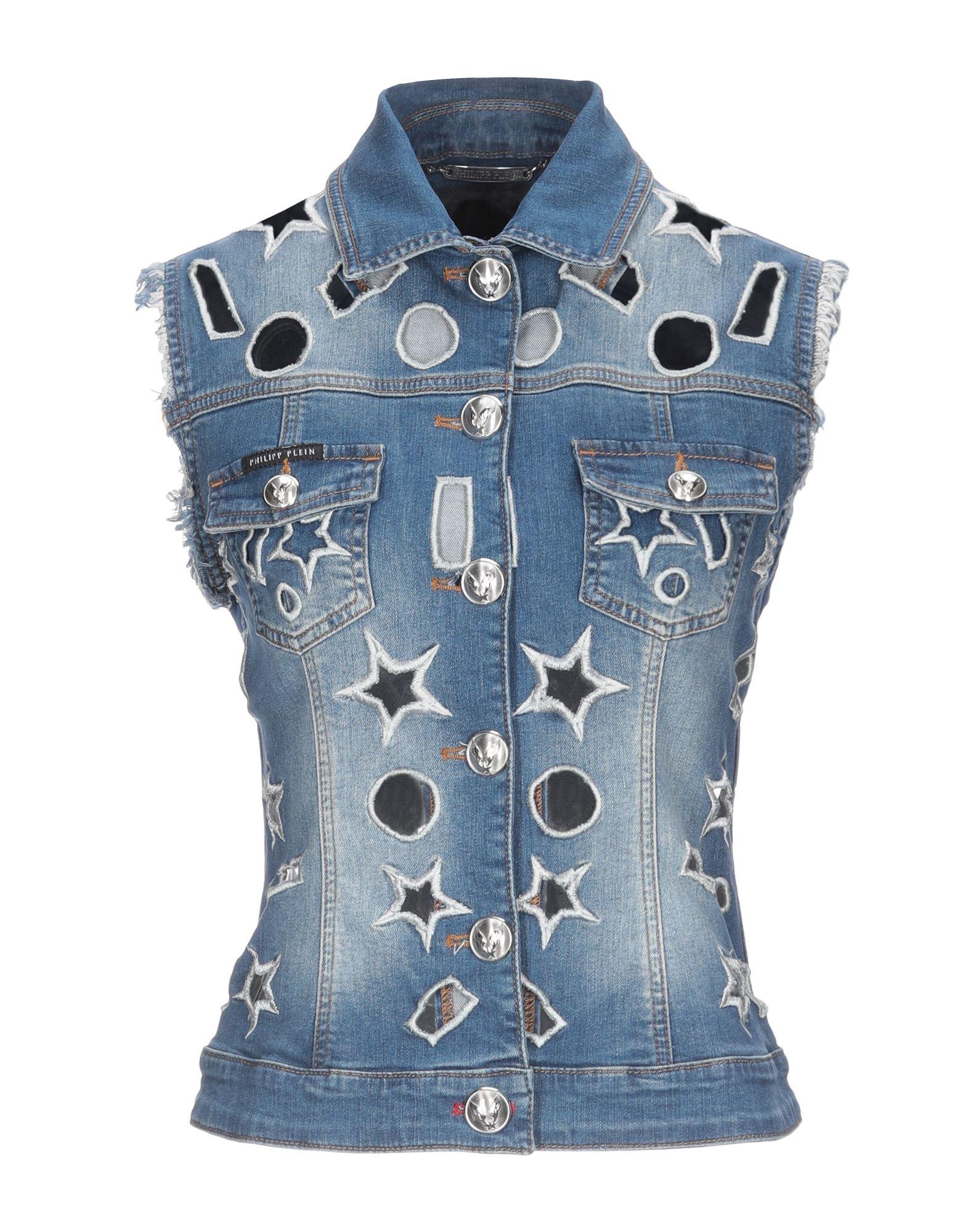 Фото - PHILIPP PLEIN Джинсовая верхняя одежда goldsign джинсовая верхняя одежда