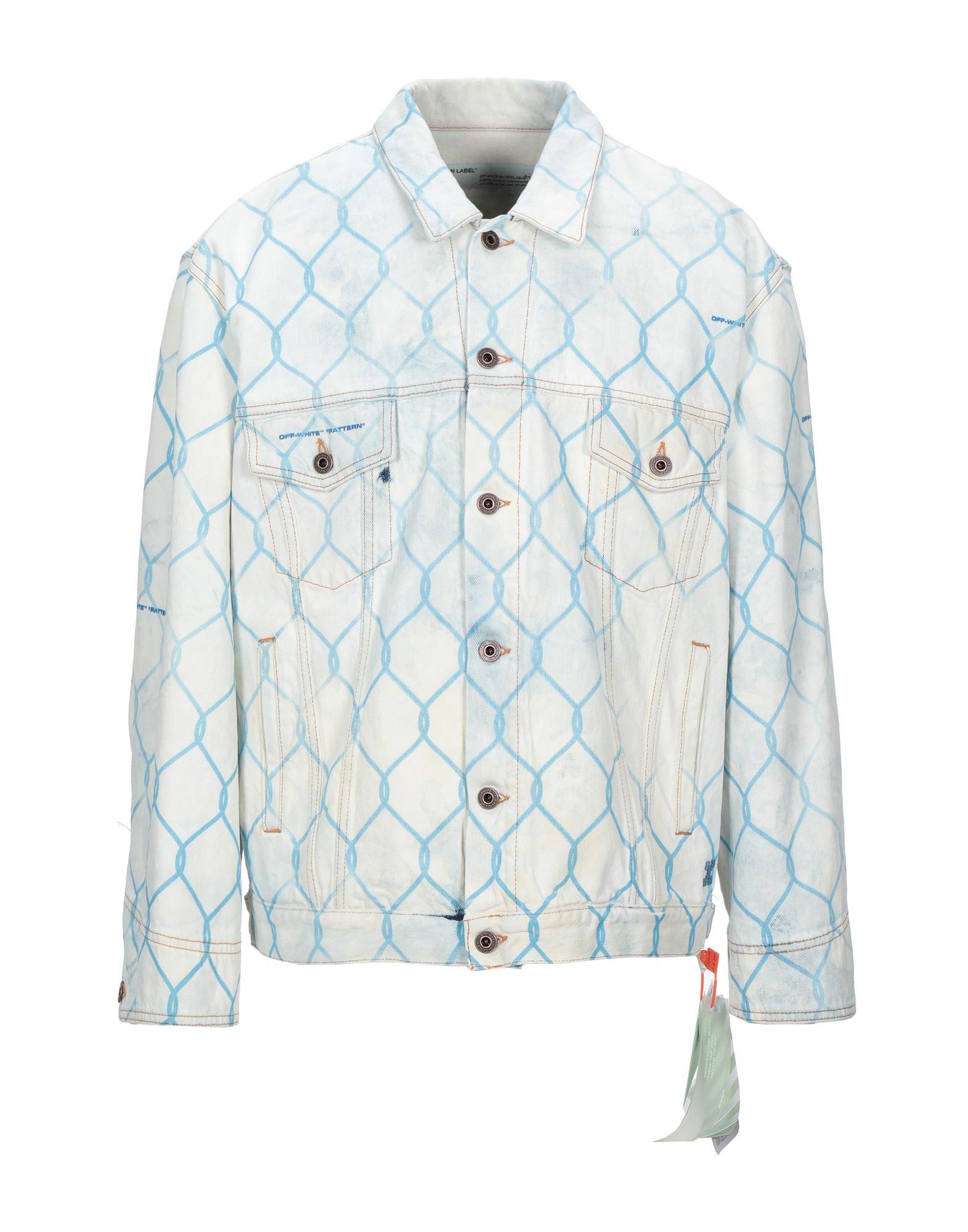 Фото - OFF-WHITE™ Джинсовая верхняя одежда goldsign джинсовая верхняя одежда