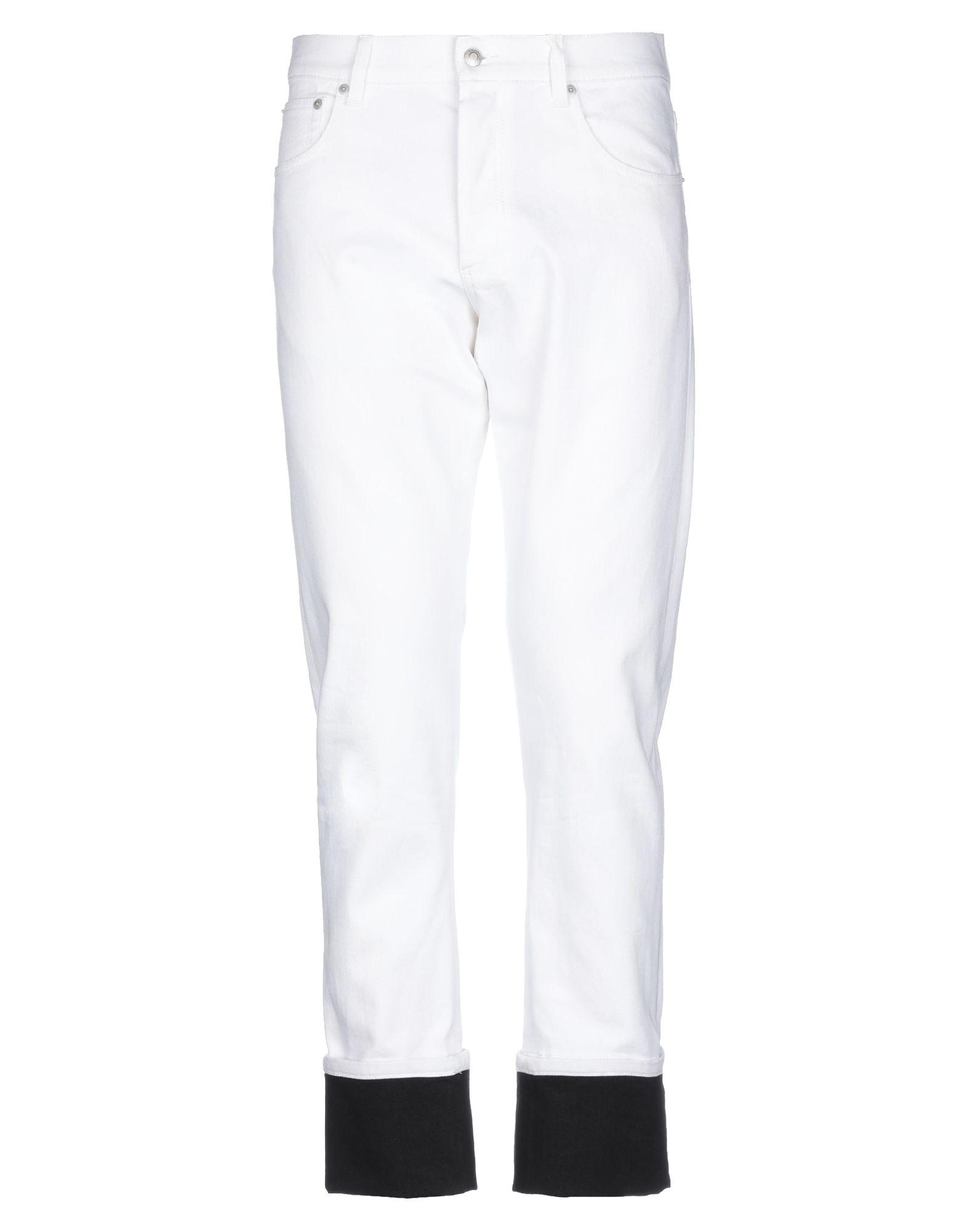 ALEXANDER MCQUEEN Denim pants - Item 42817786