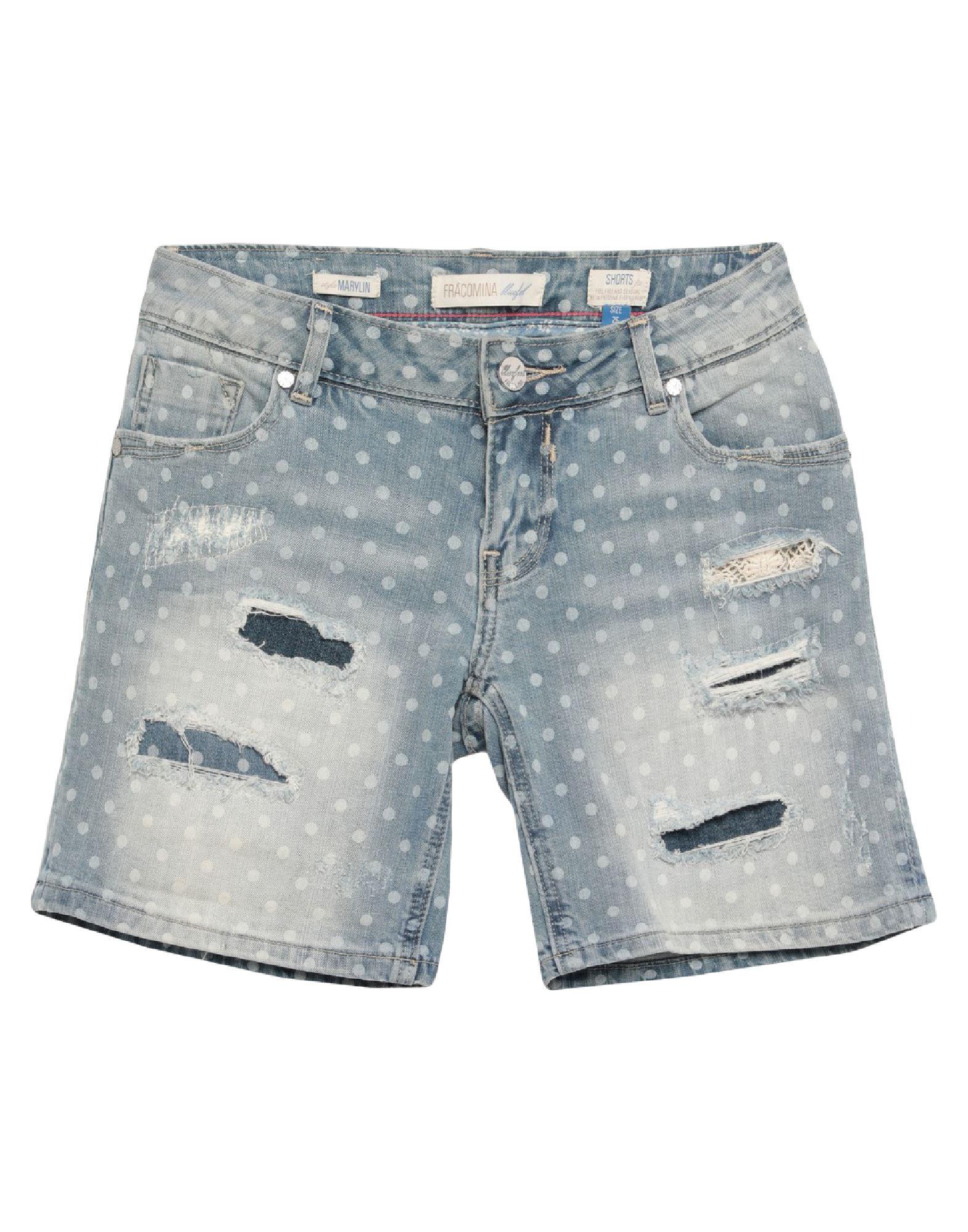 BLUEFEEL by FRACOMINA Джинсовые шорты fracomina mini джинсовые шорты