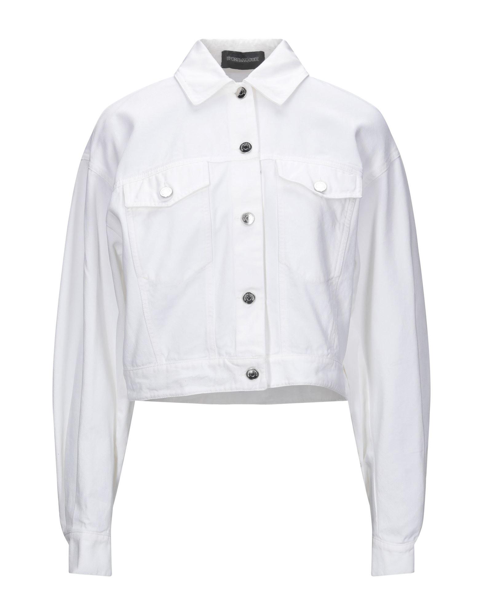 SPORTMAX CODE Джинсовая верхняя одежда