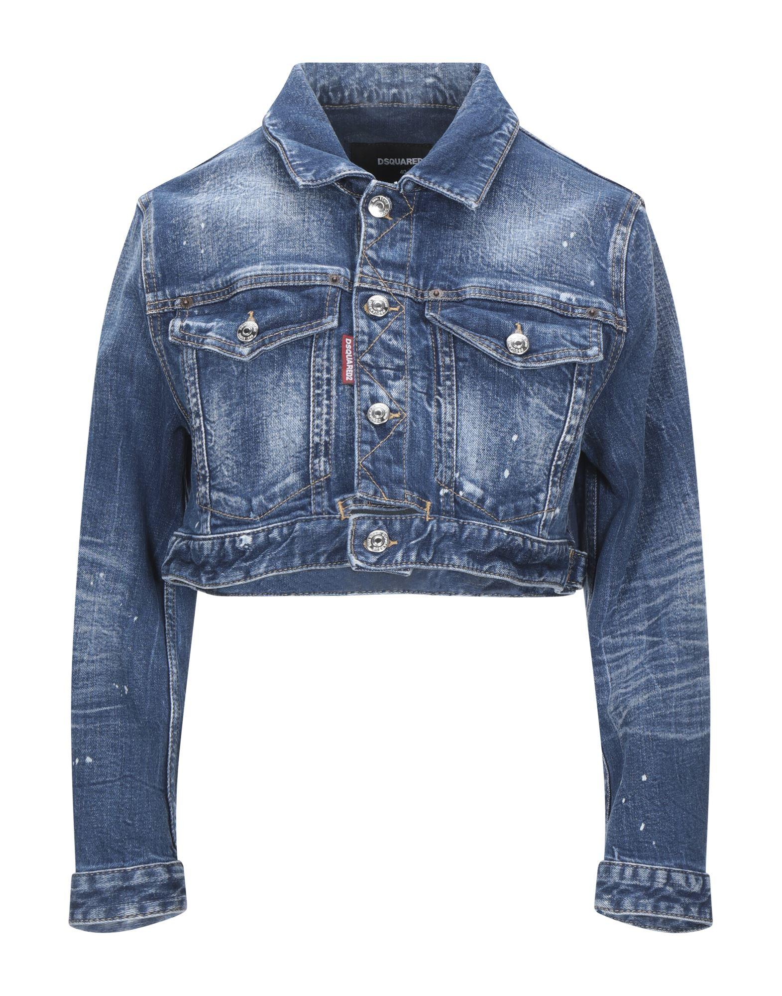 Фото - DSQUARED2 Джинсовая верхняя одежда wesc джинсовая верхняя одежда