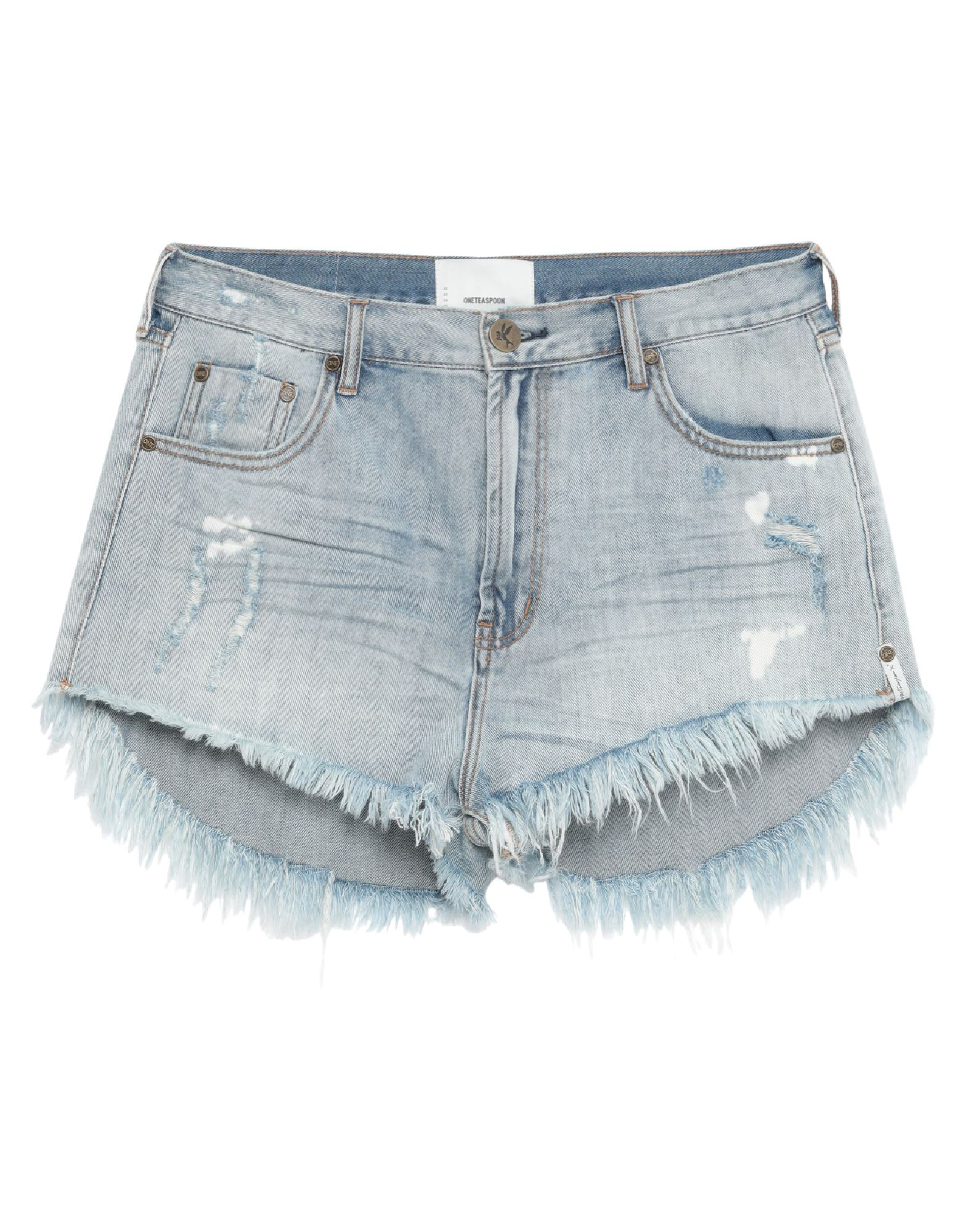 ONETEASPOON Denim shorts - Item 42820440