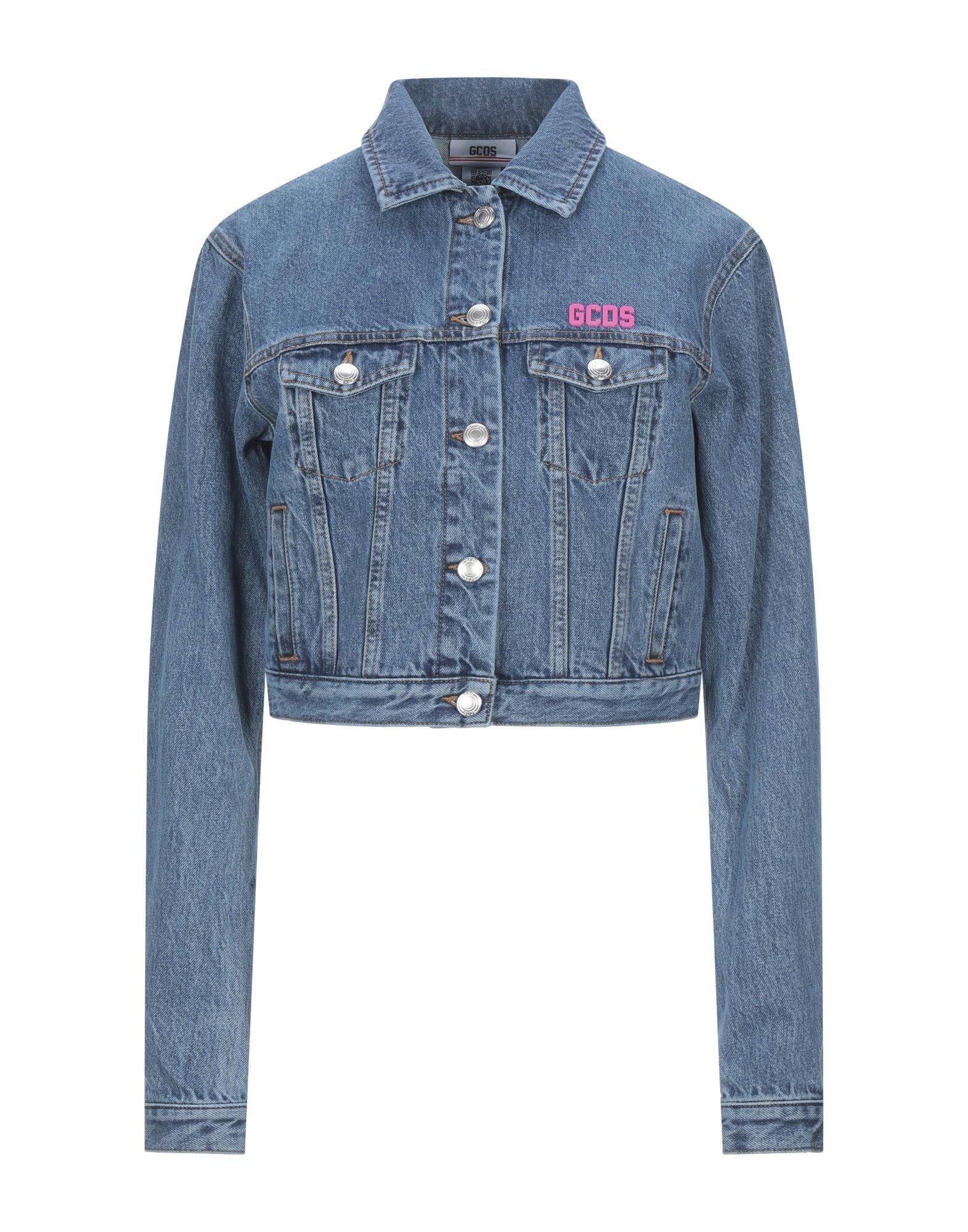 Фото - GCDS Джинсовая верхняя одежда goldsign джинсовая верхняя одежда