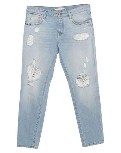 Джинсовые брюки DON THE FULLER