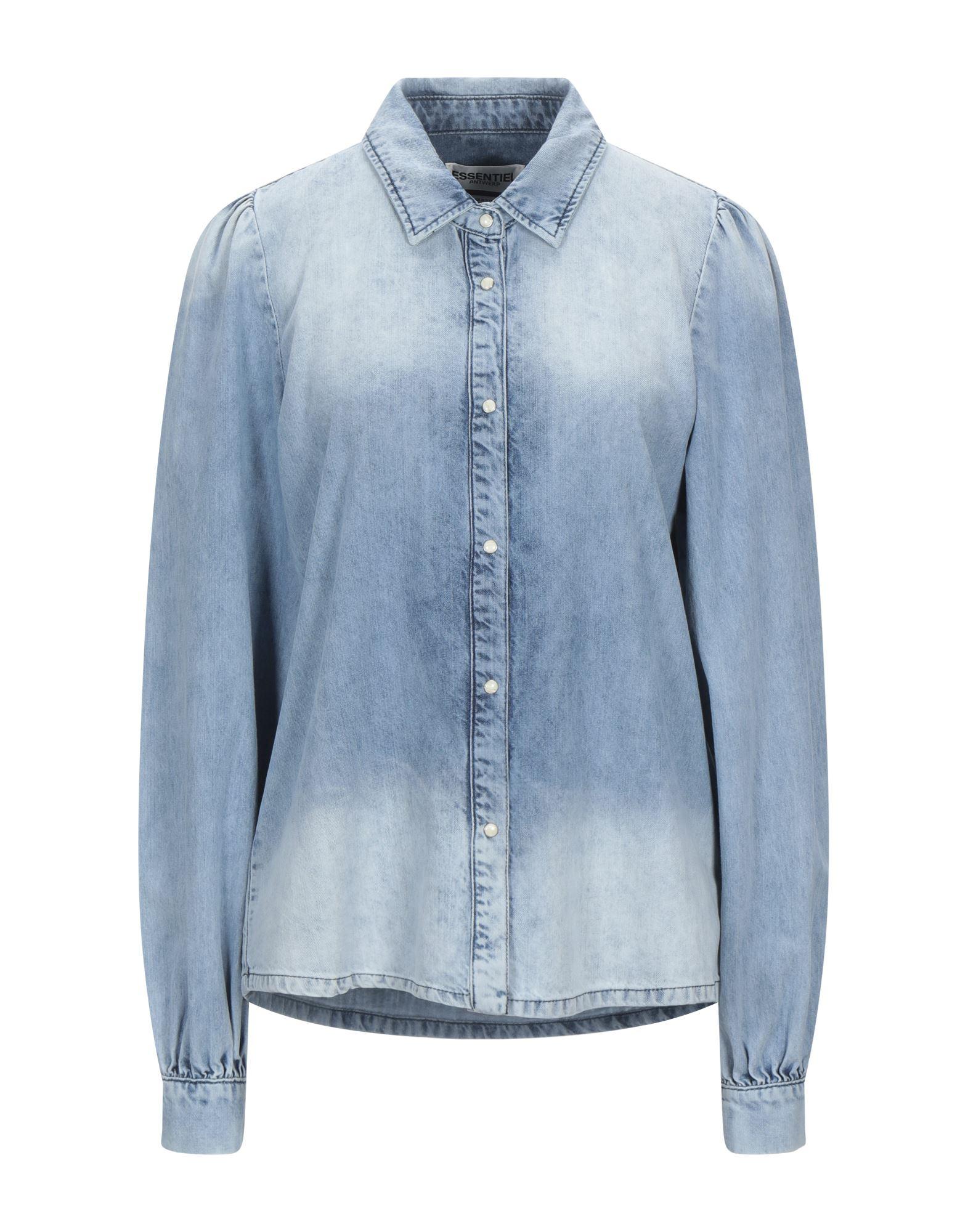 ESSENTIEL ANTWERP Denim shirts - Item 42822038