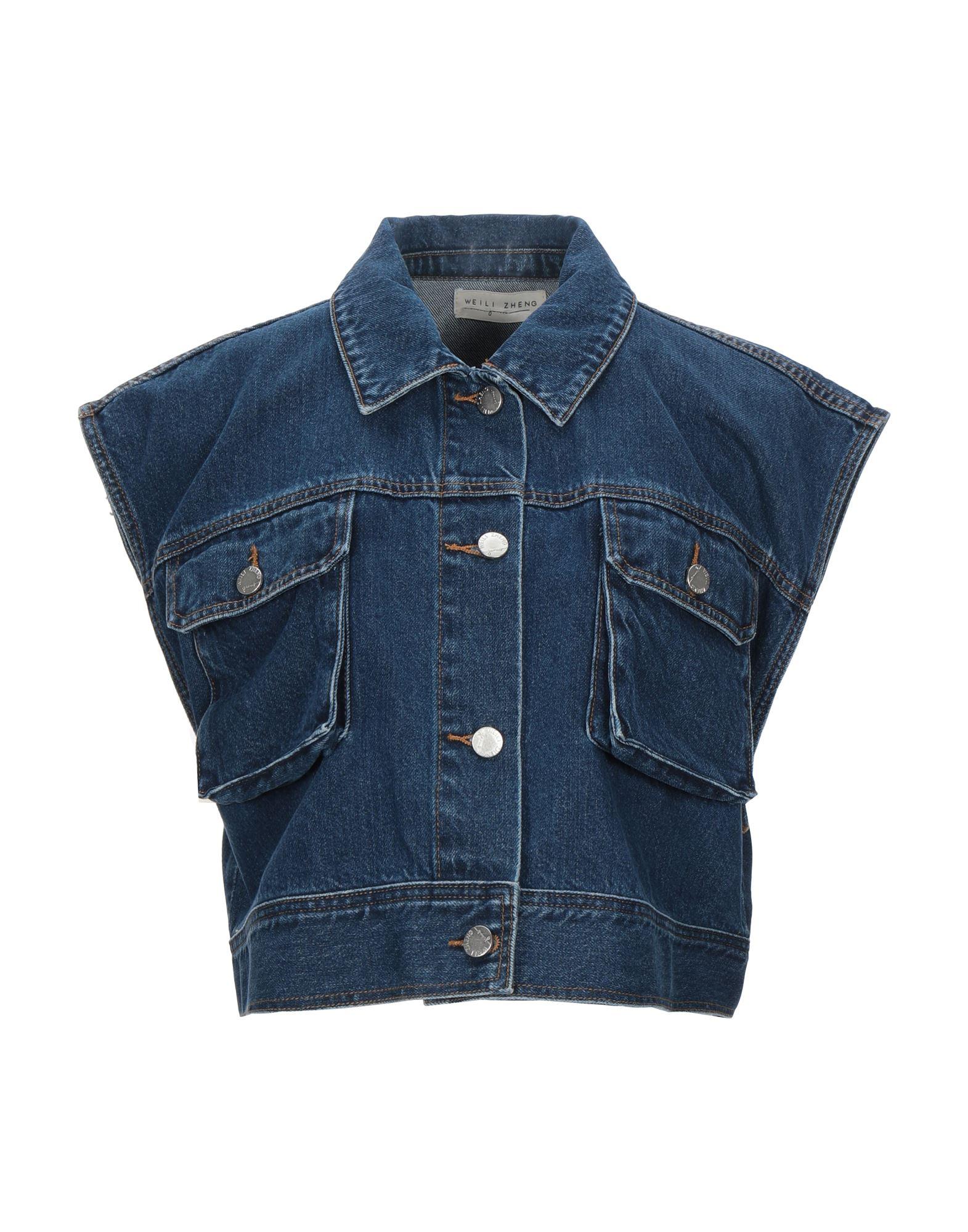 WEILI ZHENG Джинсовая верхняя одежда merci джинсовая верхняя одежда