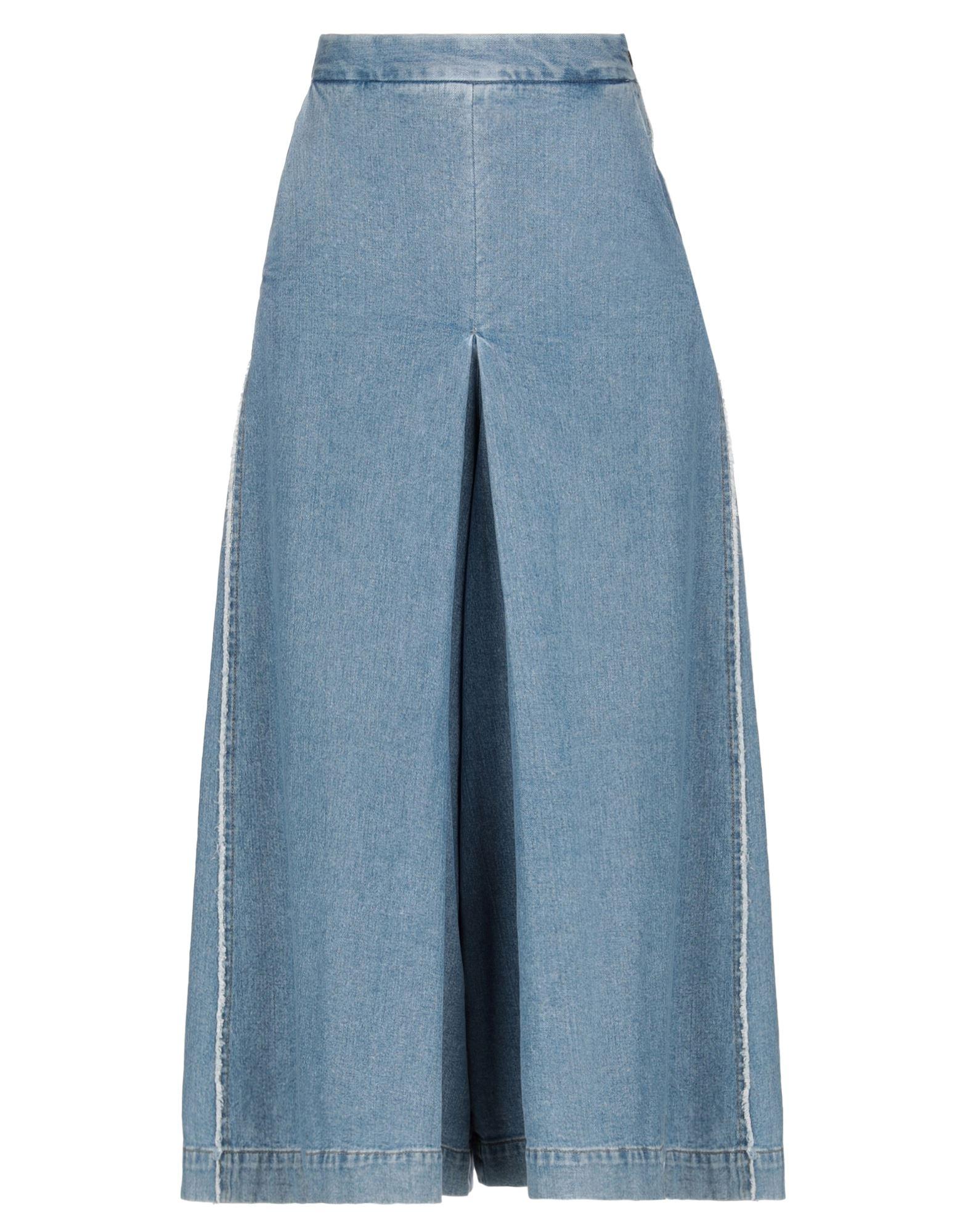 NINE:INTHE:MORNING Джинсовые брюки-капри sahoco джинсовые брюки капри