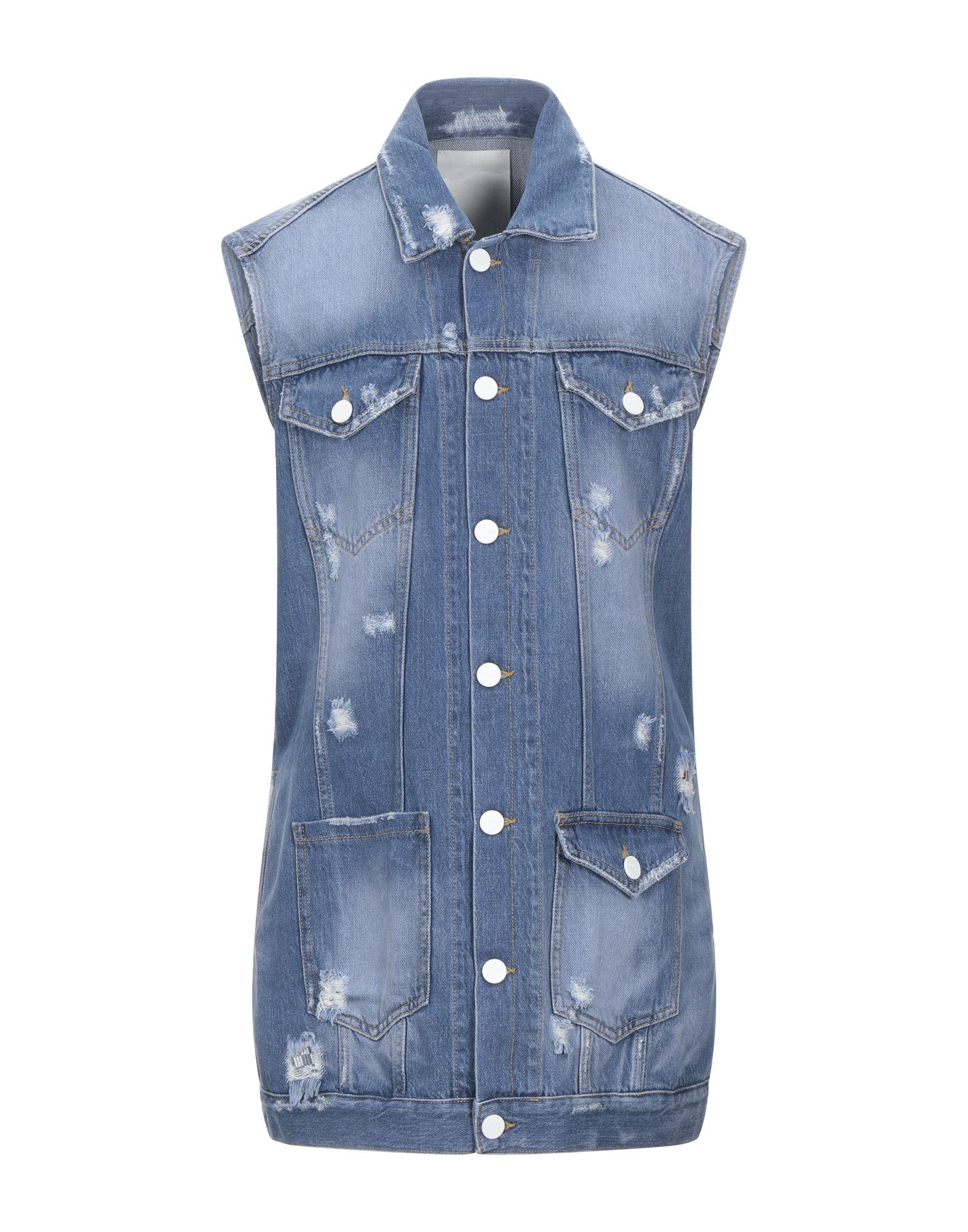 Фото - P_JEAN Джинсовая верхняя одежда p_jean джинсовая юбка