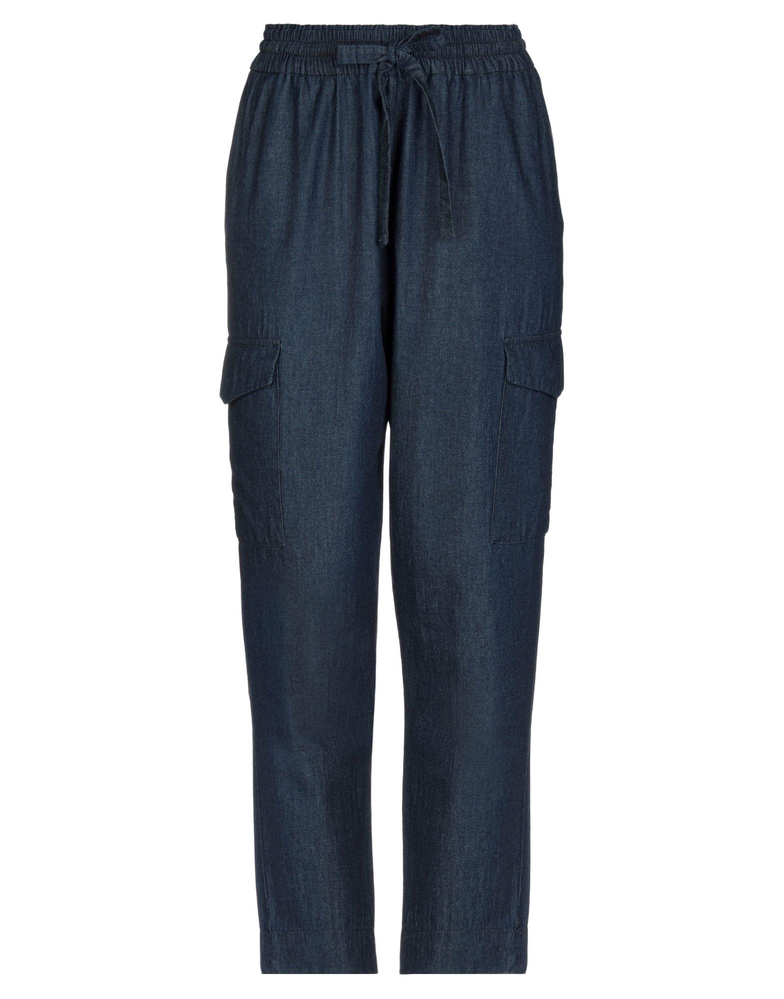 ALESSANDRA CHAMONIX Джинсовые брюки фото