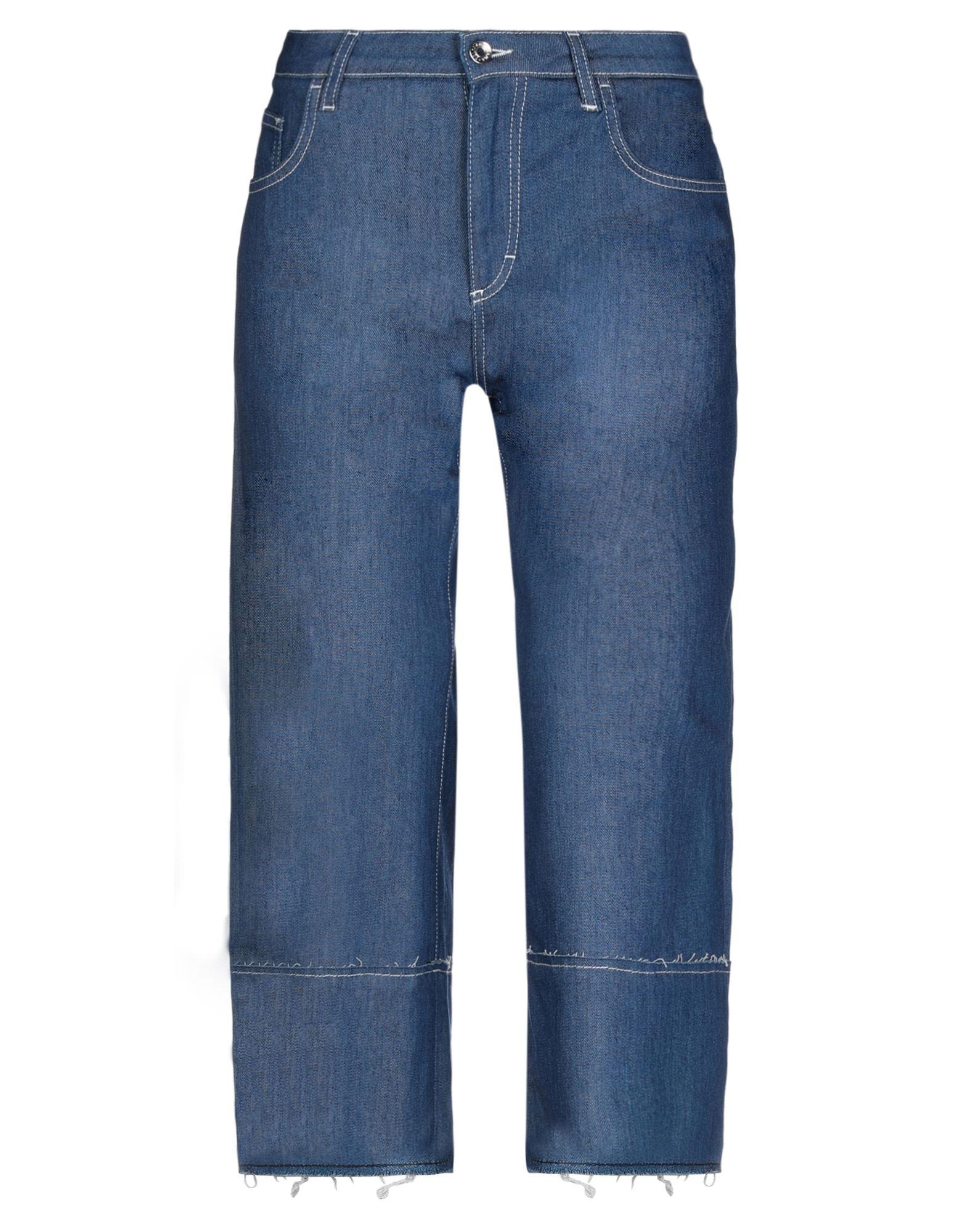 DOLCE & GABBANA Джинсовые брюки-капри sahoco джинсовые брюки капри