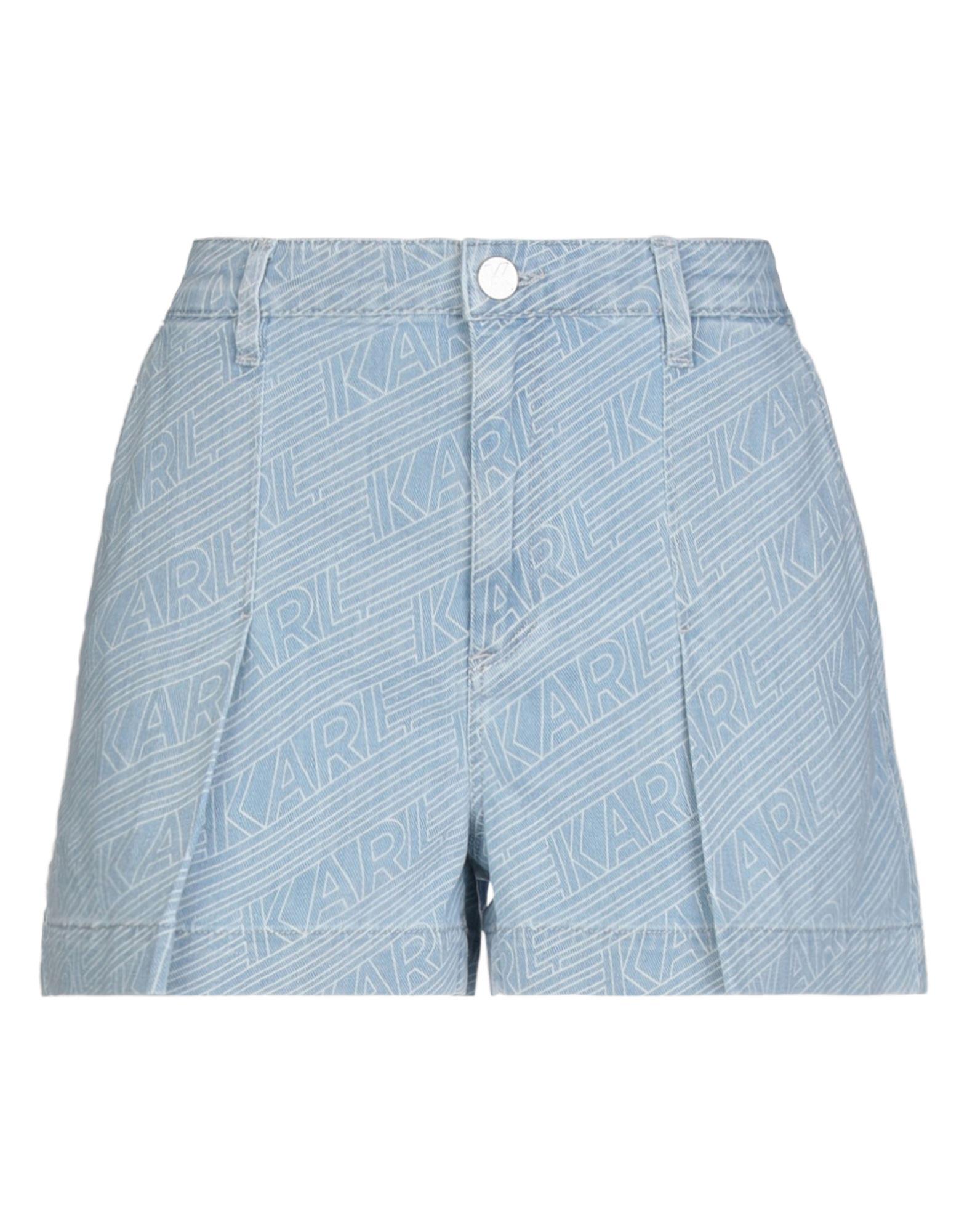 Фото - KARL LAGERFELD Джинсовые шорты please джинсовые шорты