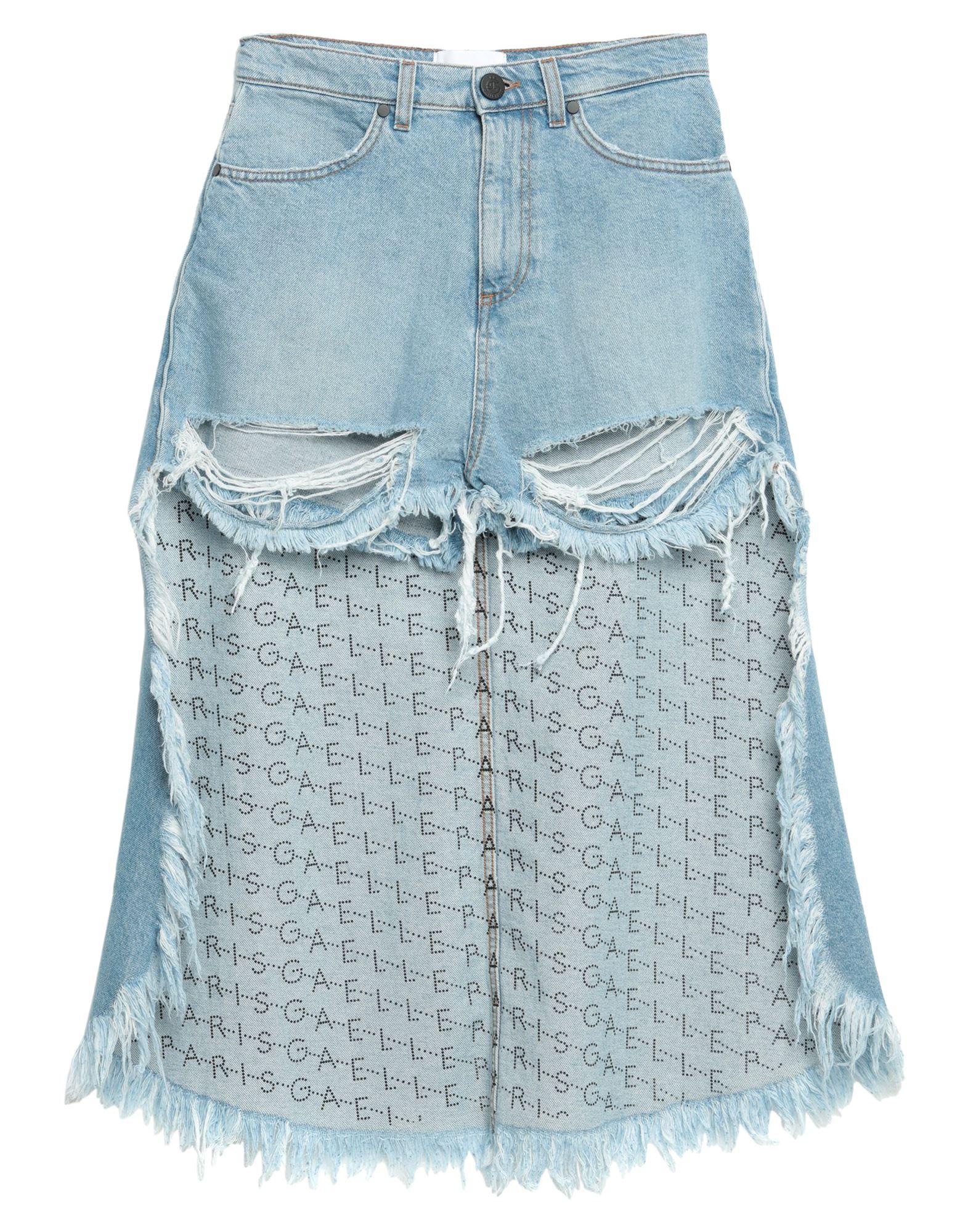 Фото - GAëLLE Paris Джинсовые шорты please джинсовые шорты