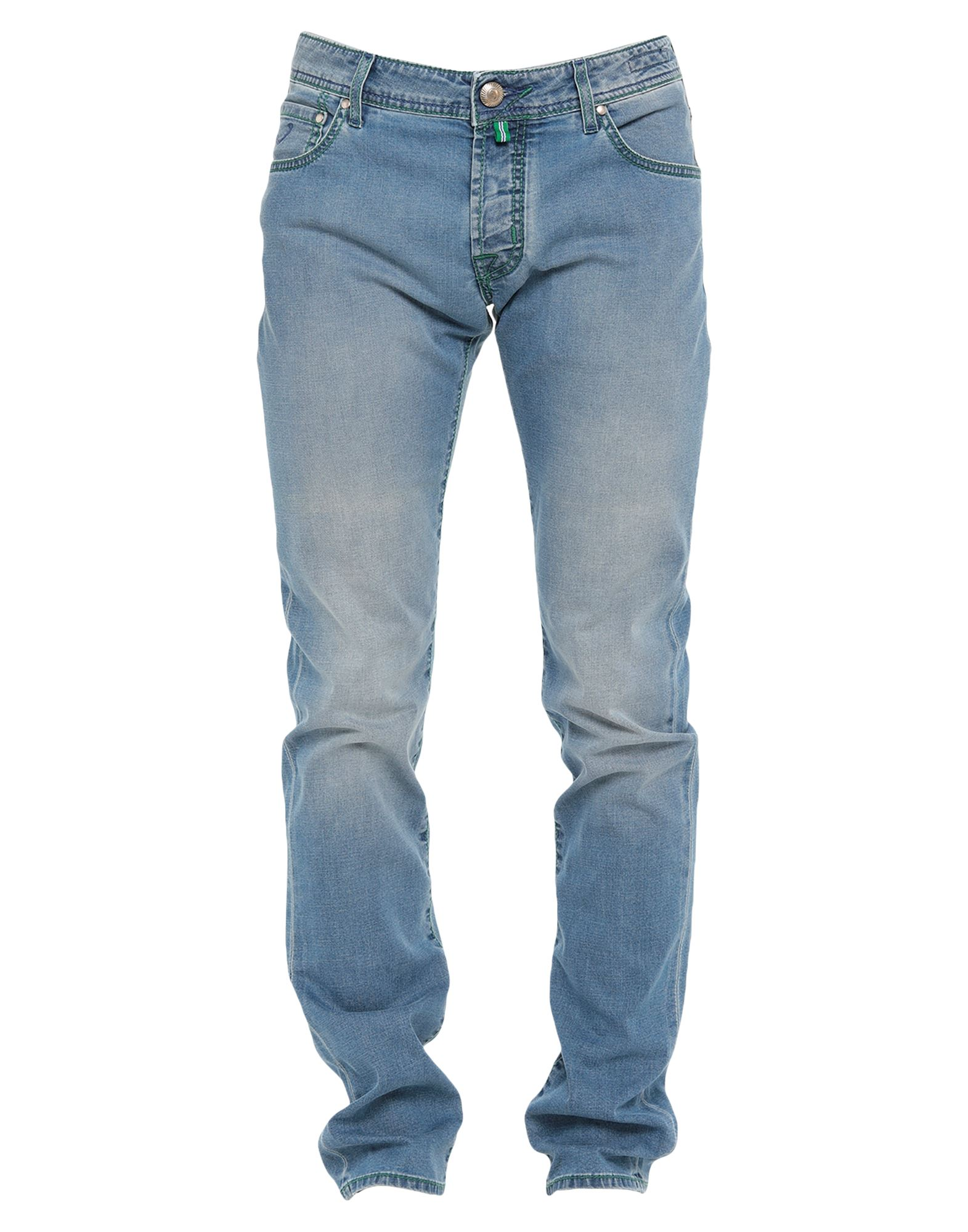 JACOB COHЁN Denim pants - Item 42826523