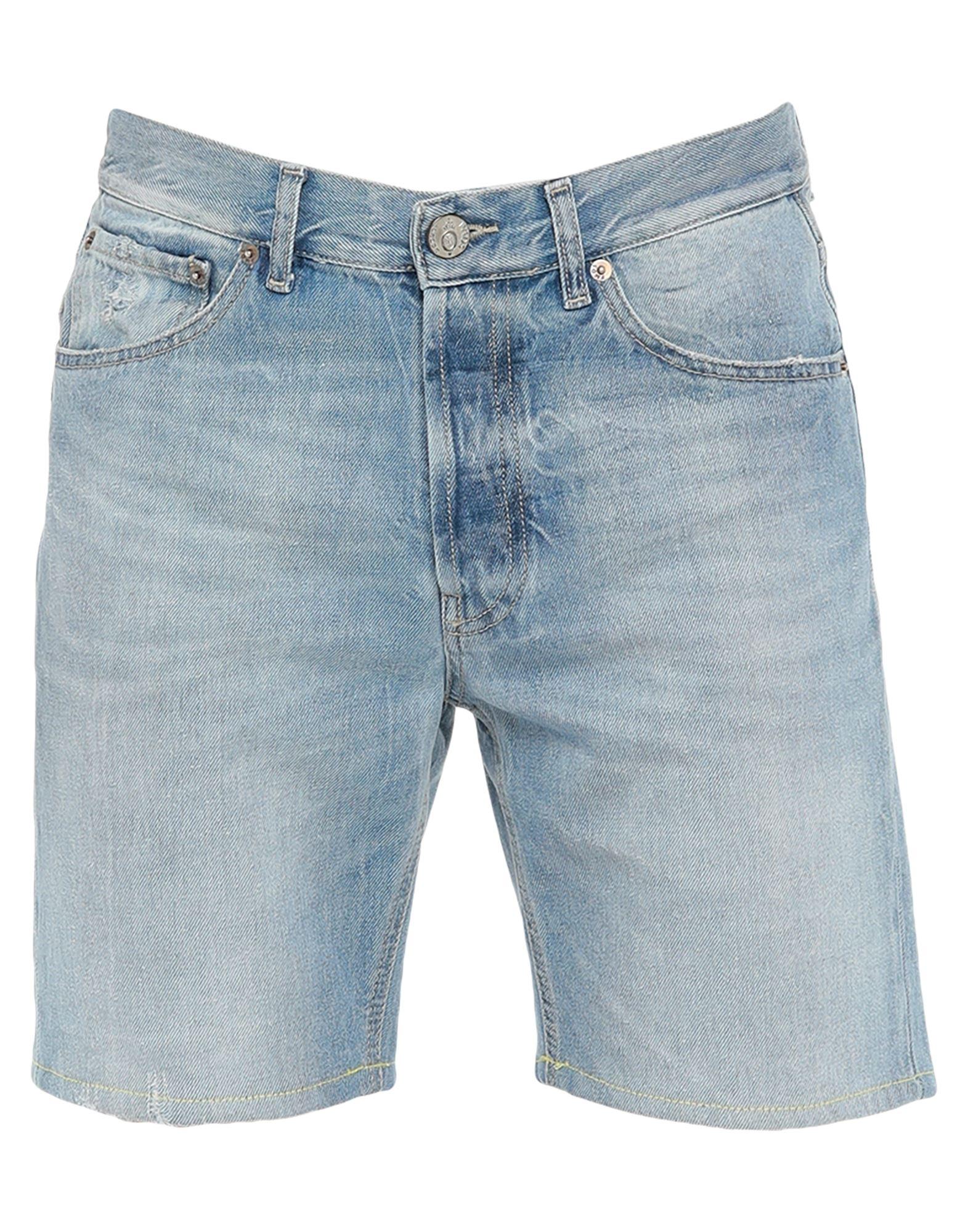 《セール開催中》PMDS PREMIUM MOOD DENIM SUPERIOR メンズ デニムバミューダパンツ ブルー 30 コットン 100%