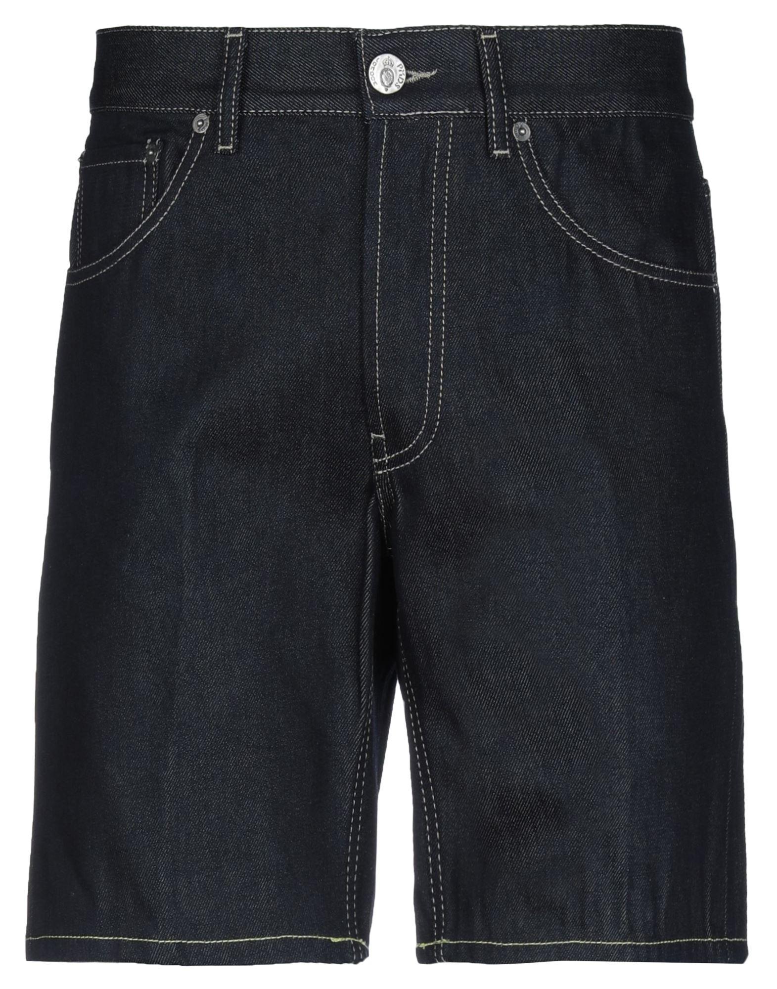 《セール開催中》PMDS PREMIUM MOOD DENIM SUPERIOR メンズ デニムバミューダパンツ ブルー 32 コットン 100%