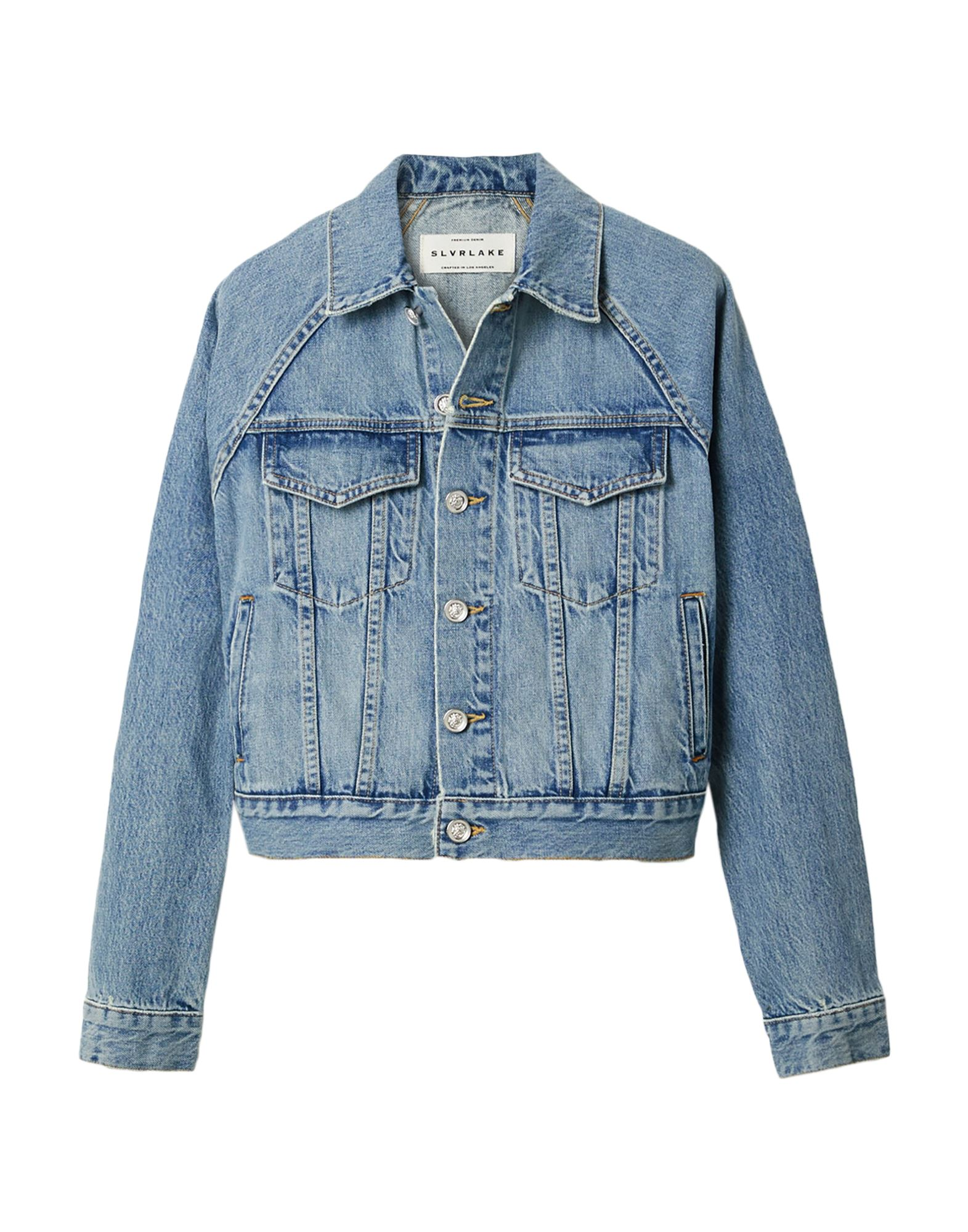 Фото - SLVRLAKE Джинсовая верхняя одежда goldsign джинсовая верхняя одежда