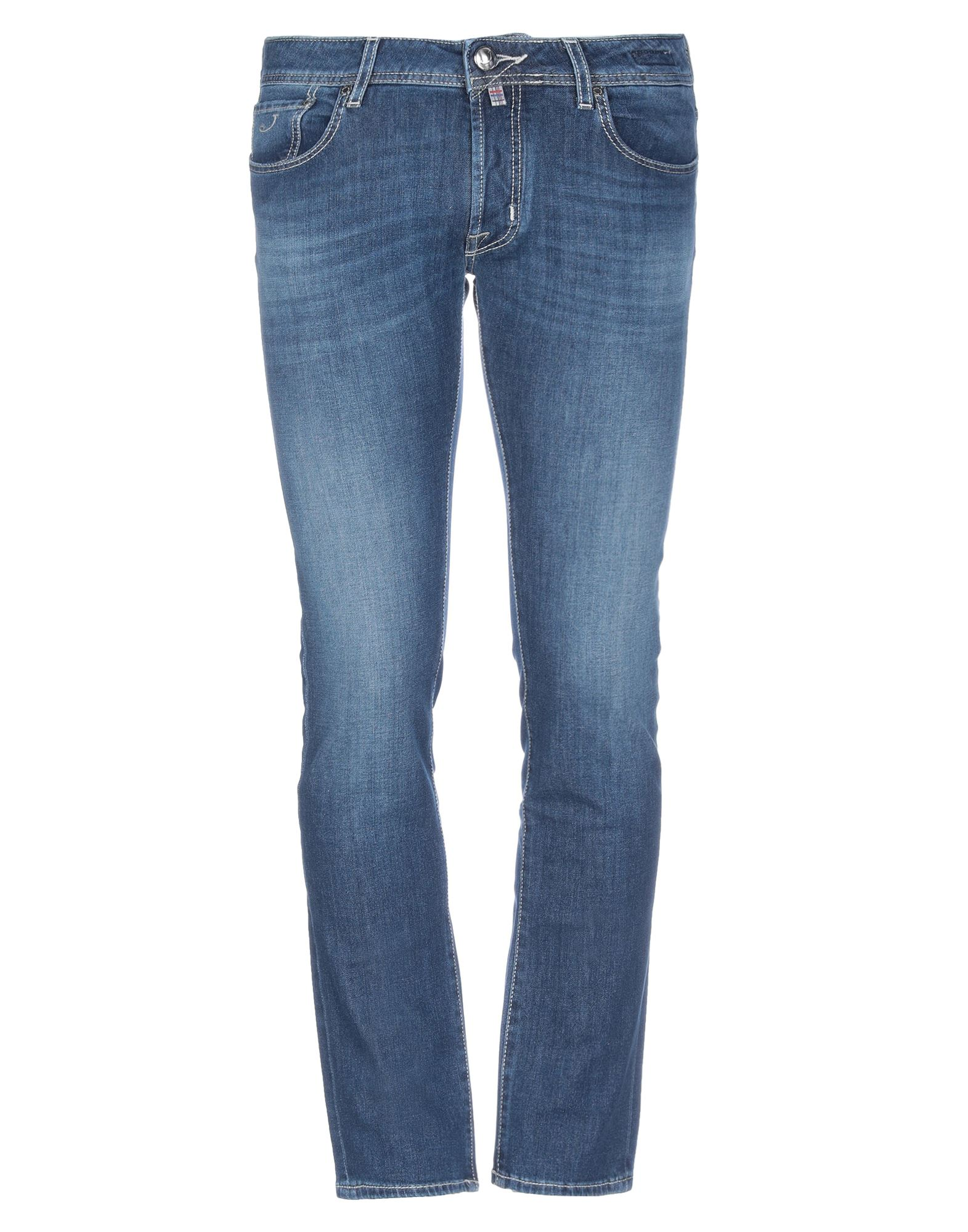 JACOB COHЁN Denim pants - Item 42829387