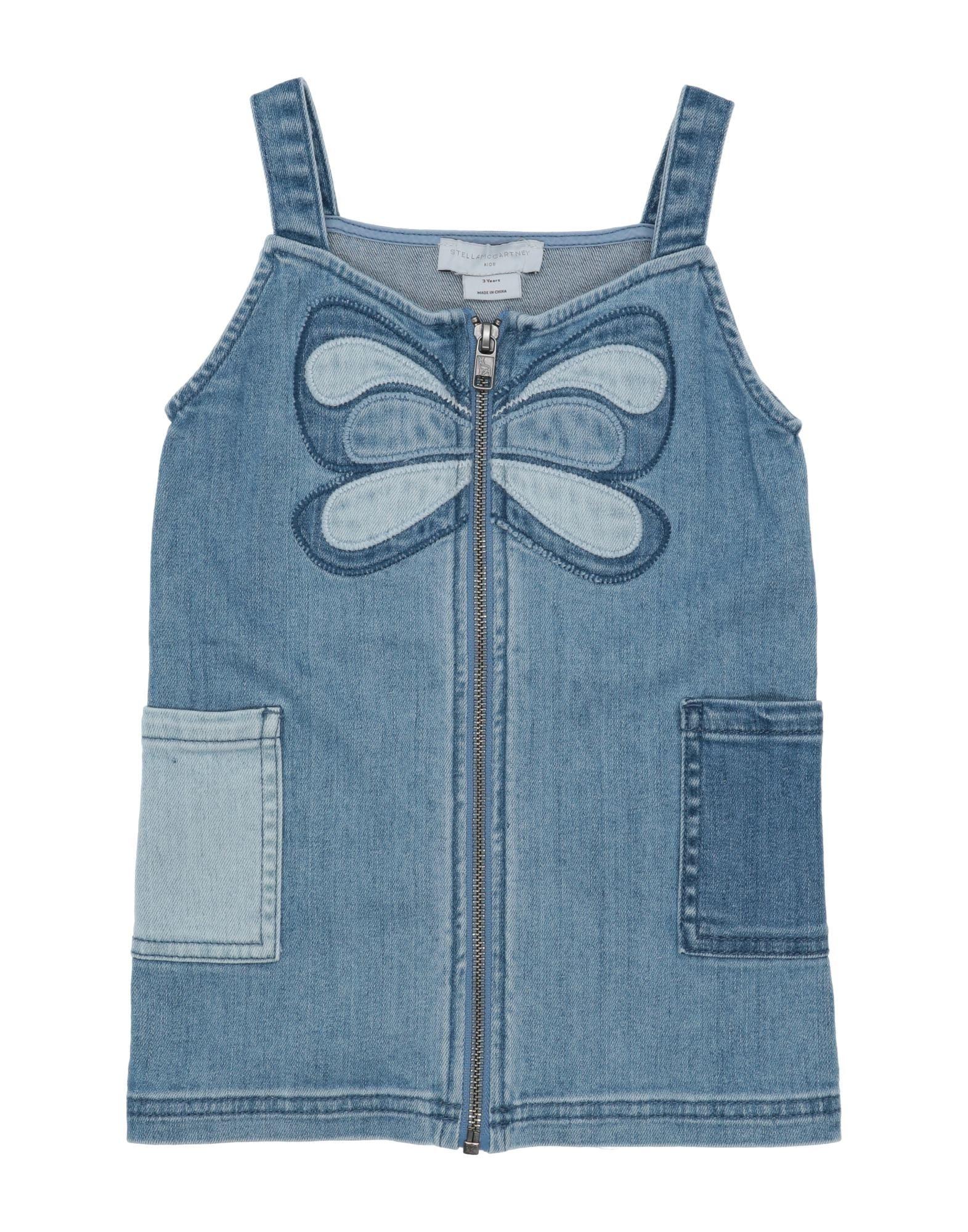 《セール開催中》STELLA McCARTNEY KIDS ガールズ 3-8 歳 ワンピース&ドレス ブルー 3 コットン 98% / ポリウレタン 2%