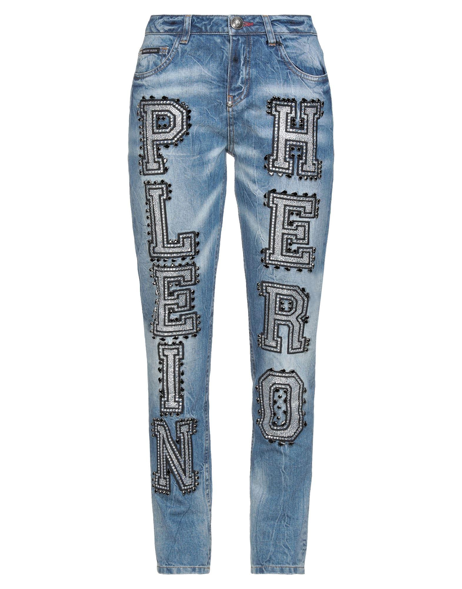 PHILIPP PLEIN Джинсовые брюки