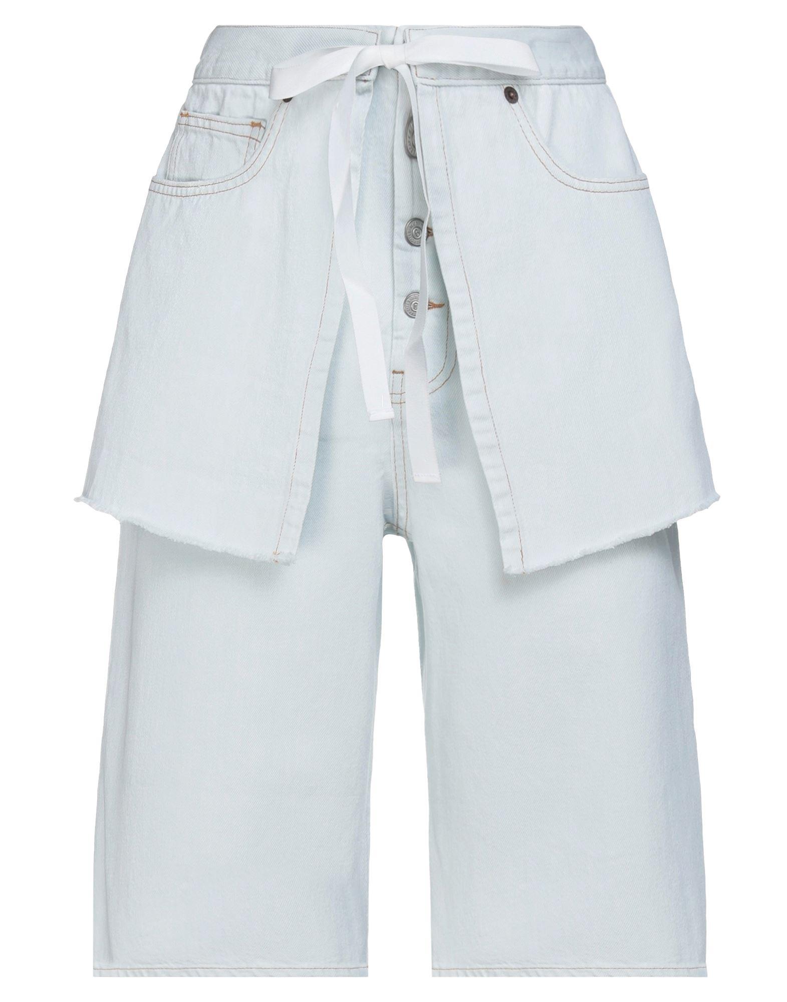 MM6 MAISON MARGIELA Джинсовые бермуды mm6 maison margiela джинсовые шорты