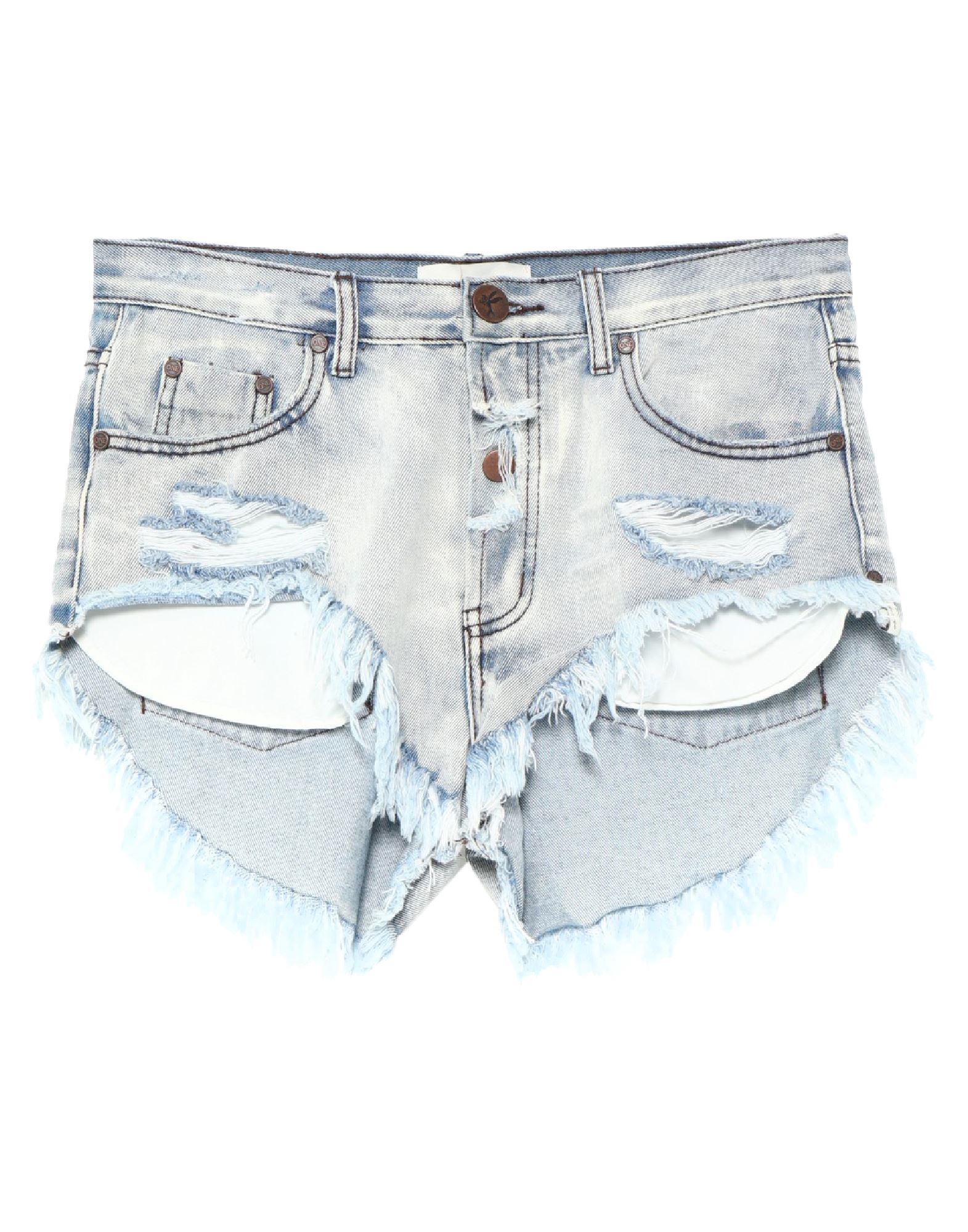 ONETEASPOON Denim shorts - Item 42834208